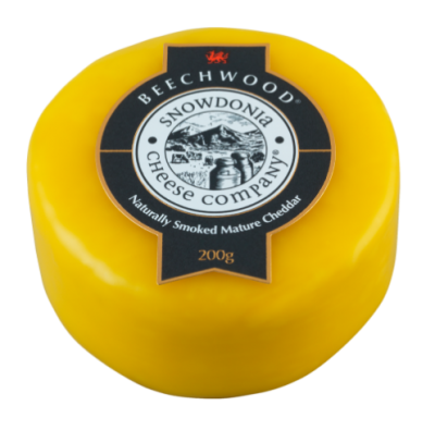 Beechwood 200g - Smoked Mature Cheddar Snowdonia Cheese Co
