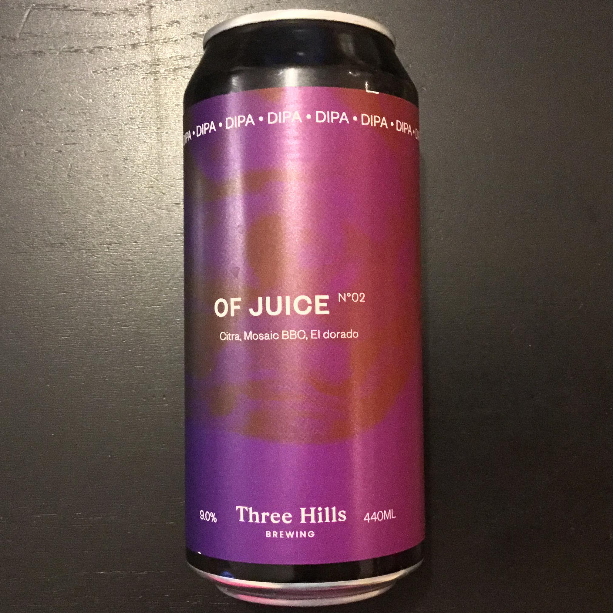 Of Juice DIPA 9% 440ml No2 Three Hills Brewing