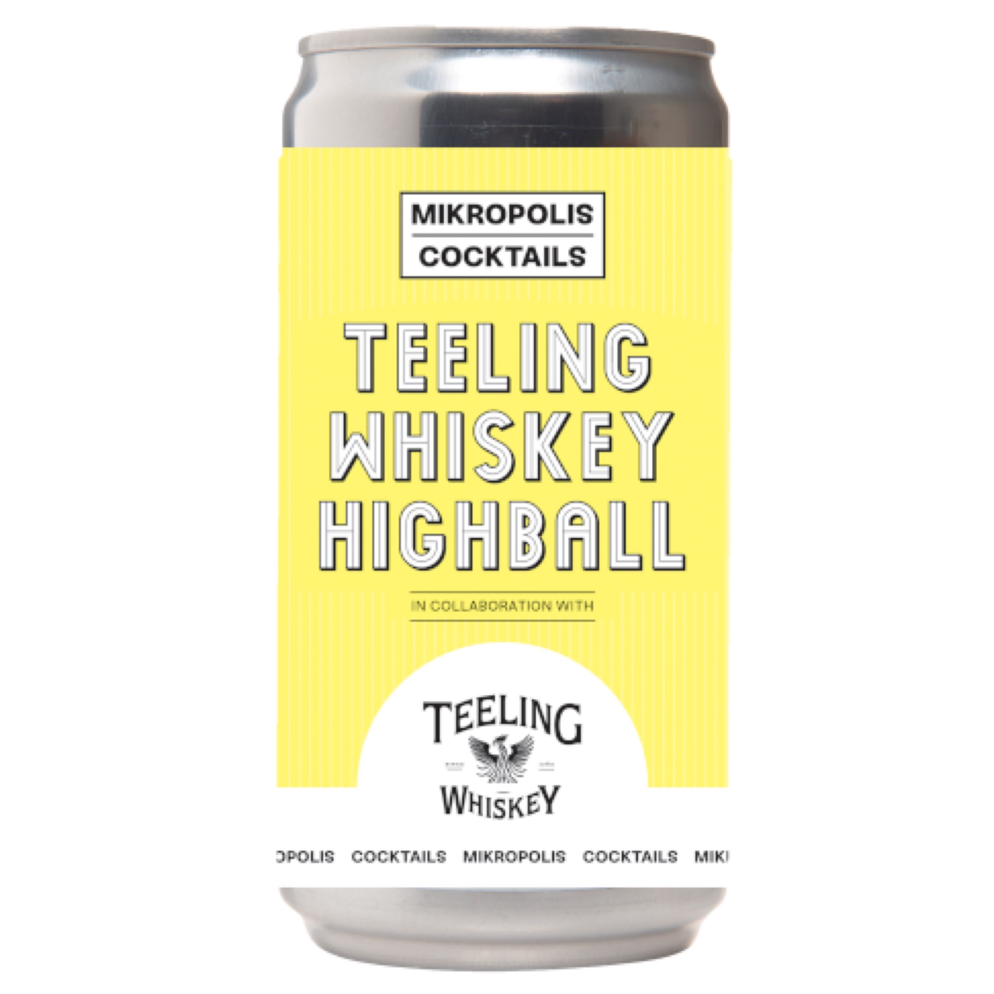 Teeling Whiskey Highball 9.4% 250ml Mikropolis Cocktails