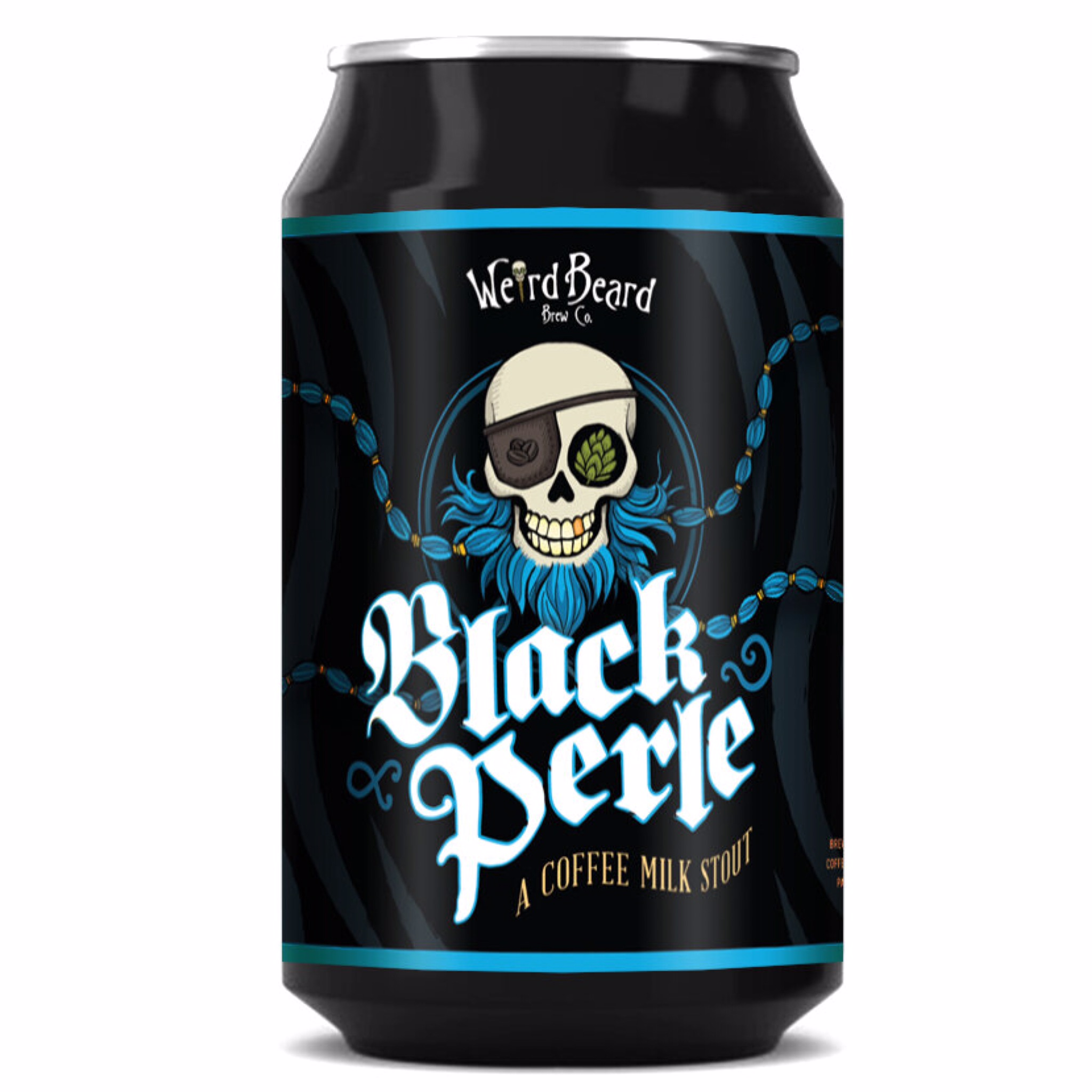 Black Perle Coffee Milk Stout 3.8% 330ml Weird Beard Brew Co
