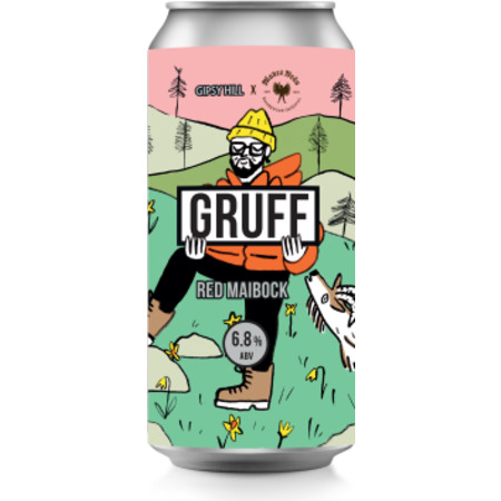 Gruff Red Maibock 6.8% 440ml Gipsy Hill Brewing