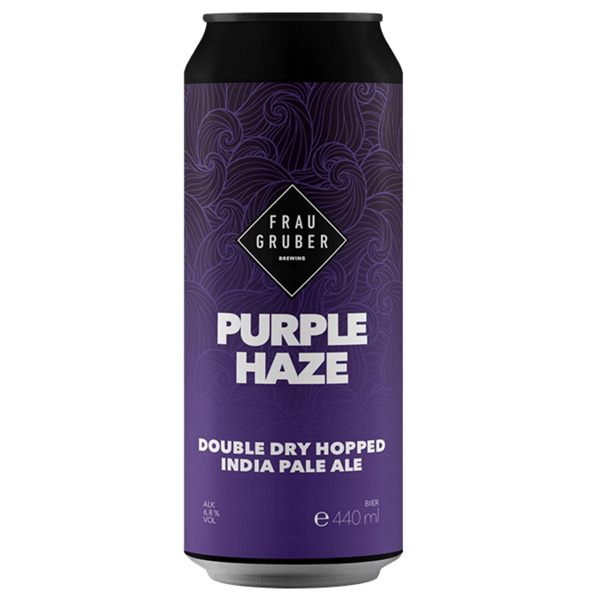 Purple Haze DDH IPA 6.8% 440ml Frau Gruber