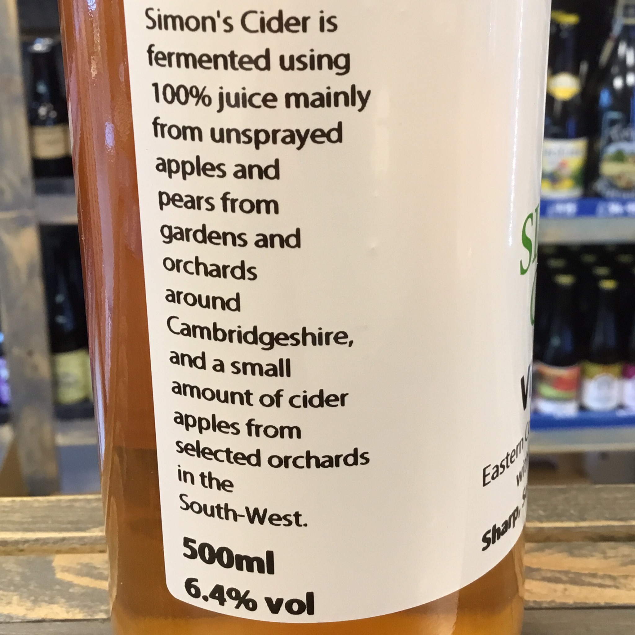 Vice Versa 6.4% 500ml Simon's Cider