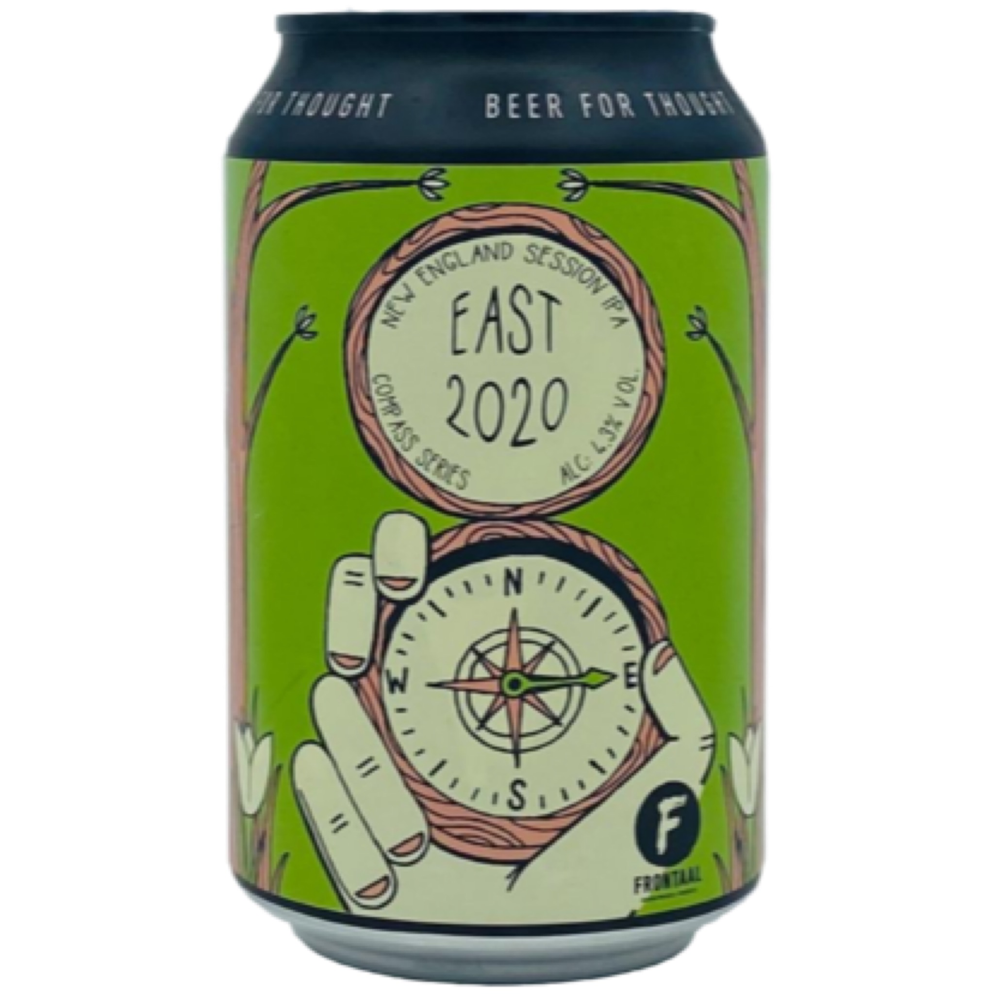 East 2020 Session NEIPA 4.3% 330ml Brouwerij Frontaal
