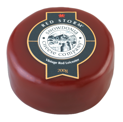 Red Storm 200g - Vintage Red Leicester Snowdonia Cheese Co