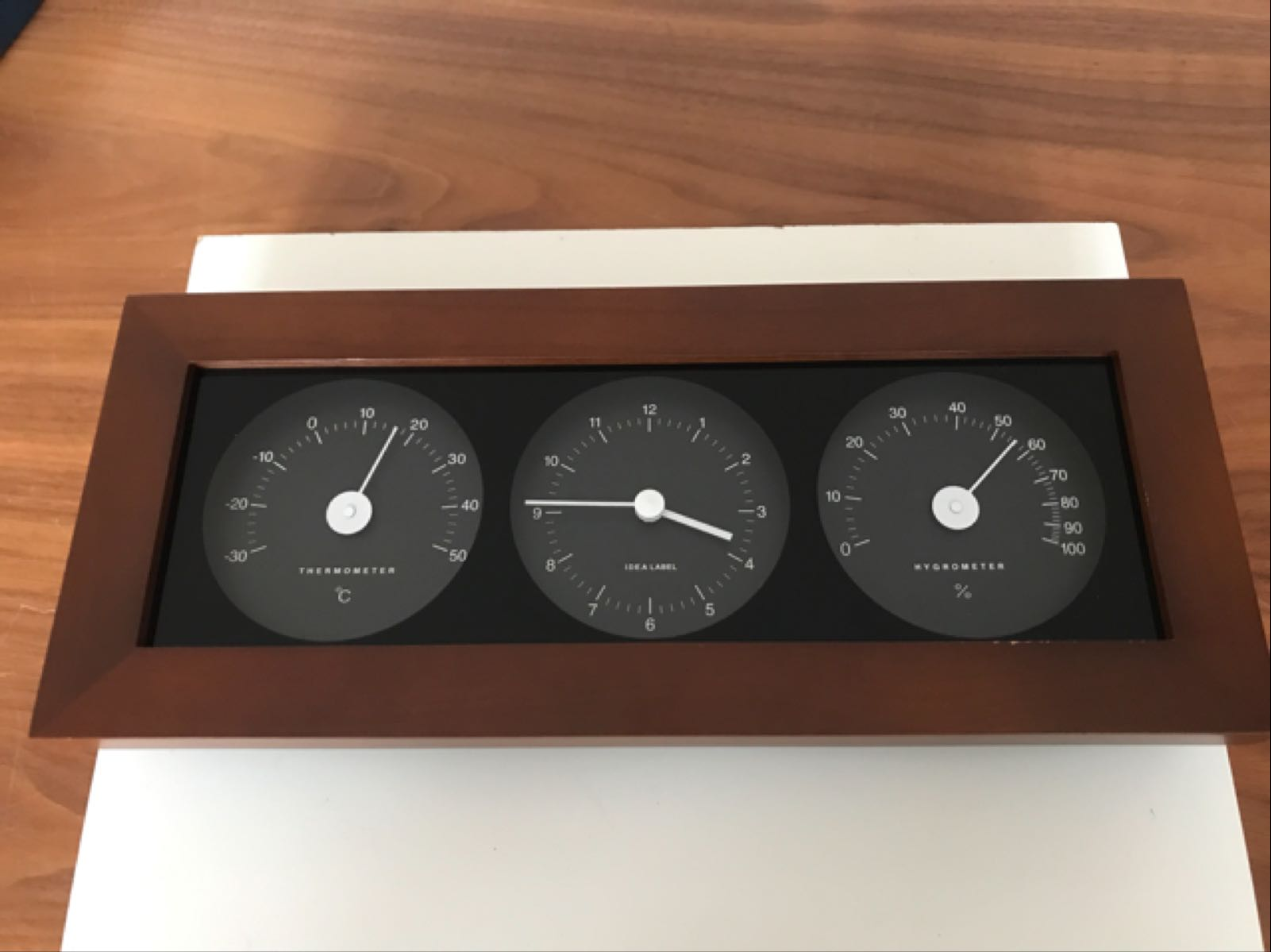 Idea International Clock, Thermometer & Hygrometer