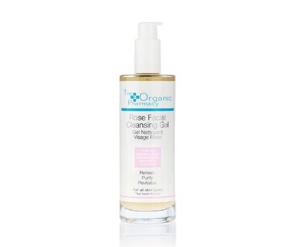 Rose Facial Cleansing Gel - 100 ml - The Organic Pharmacy