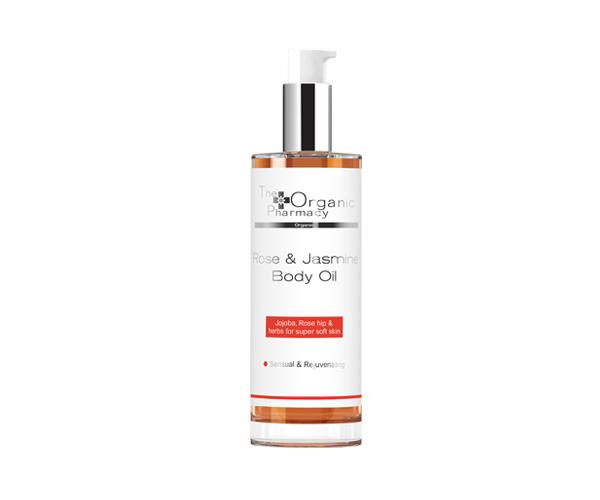 Rose & Jasmine Body Oil - 100 ml - The Organic Pharmacy