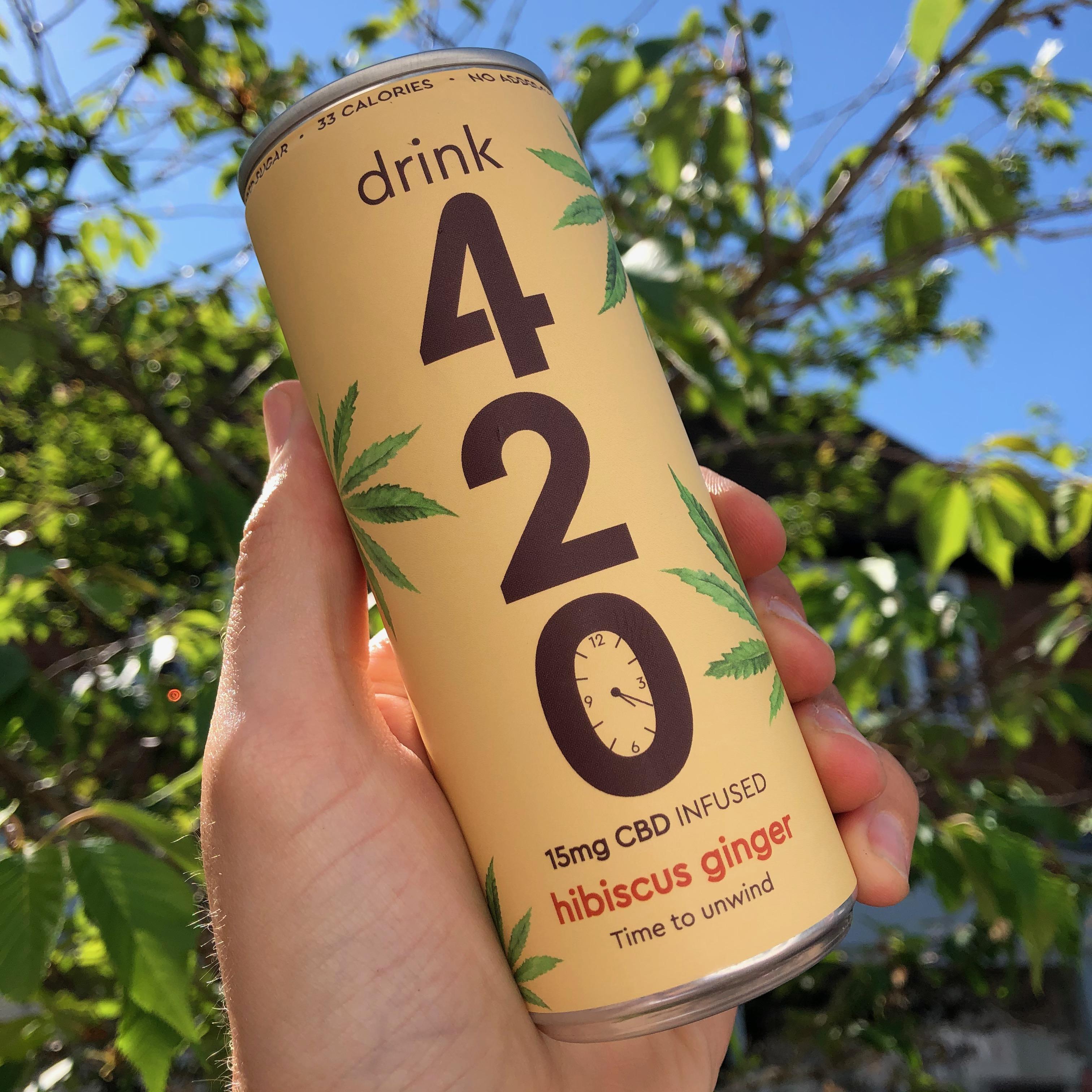 420 Hibiscus Ginger CBD 250ml