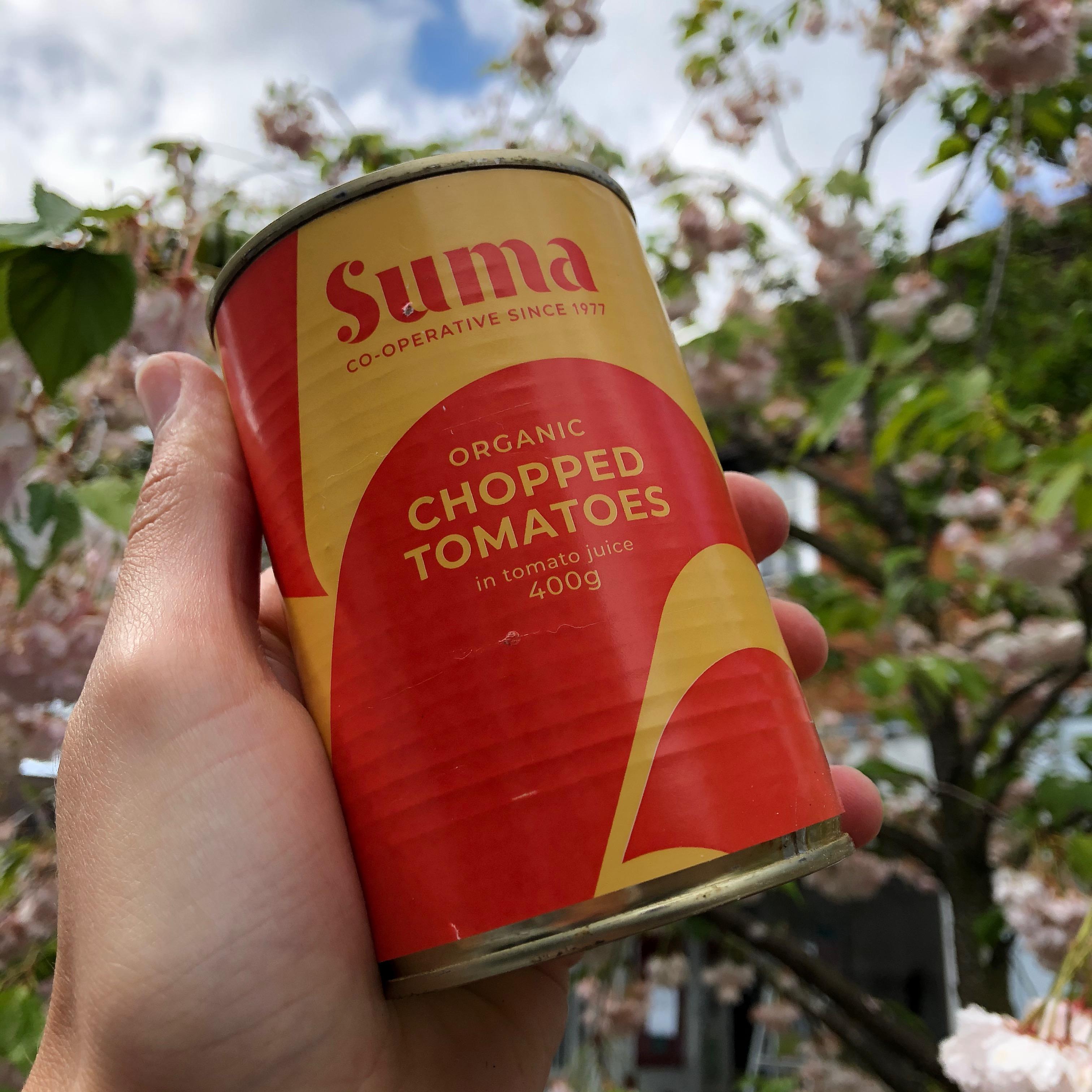 Suma Organic Chopped Tomatoes (400g)