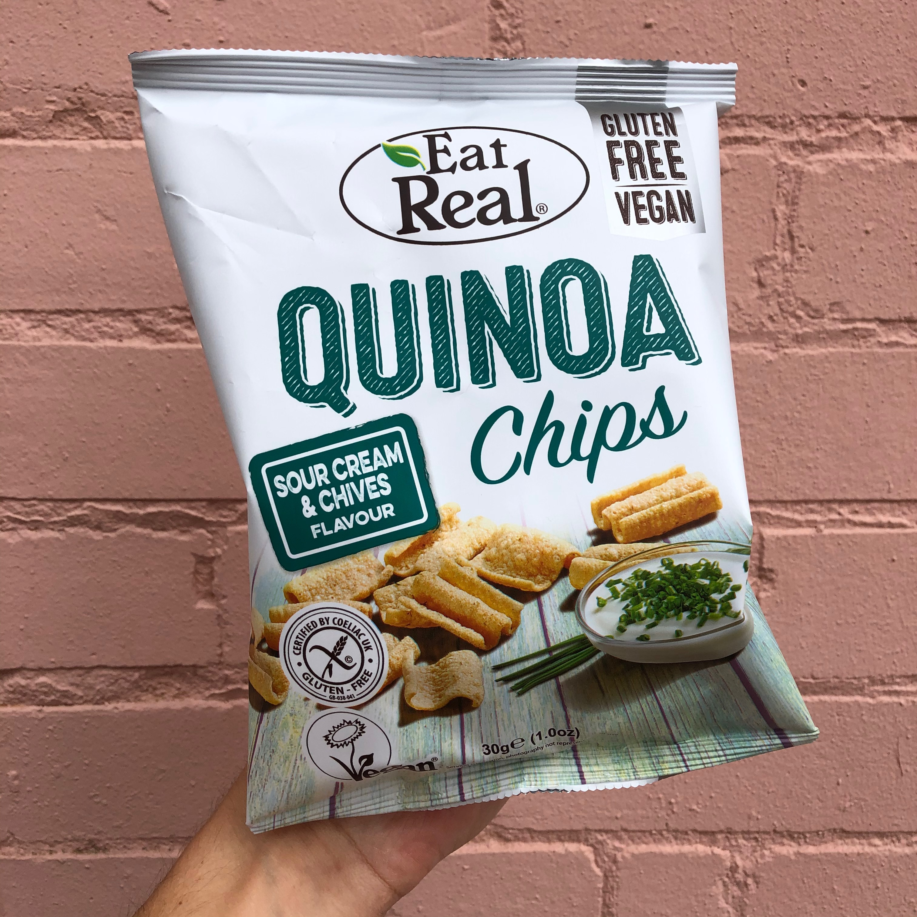 Quinoa Chips - Sour Cream & Chive 30g