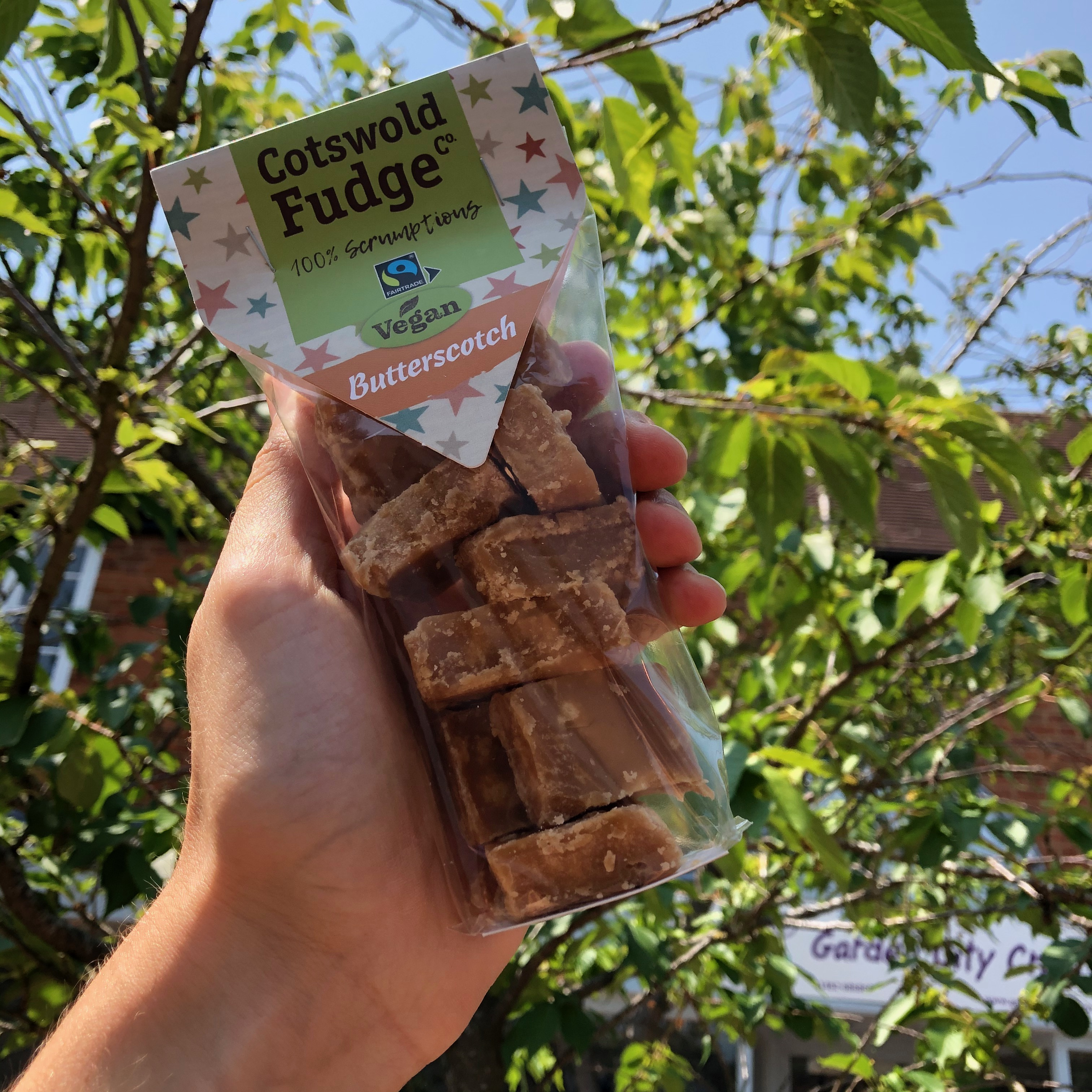 Cotswold Fudge Co - Vegan Butterscotch Fudge