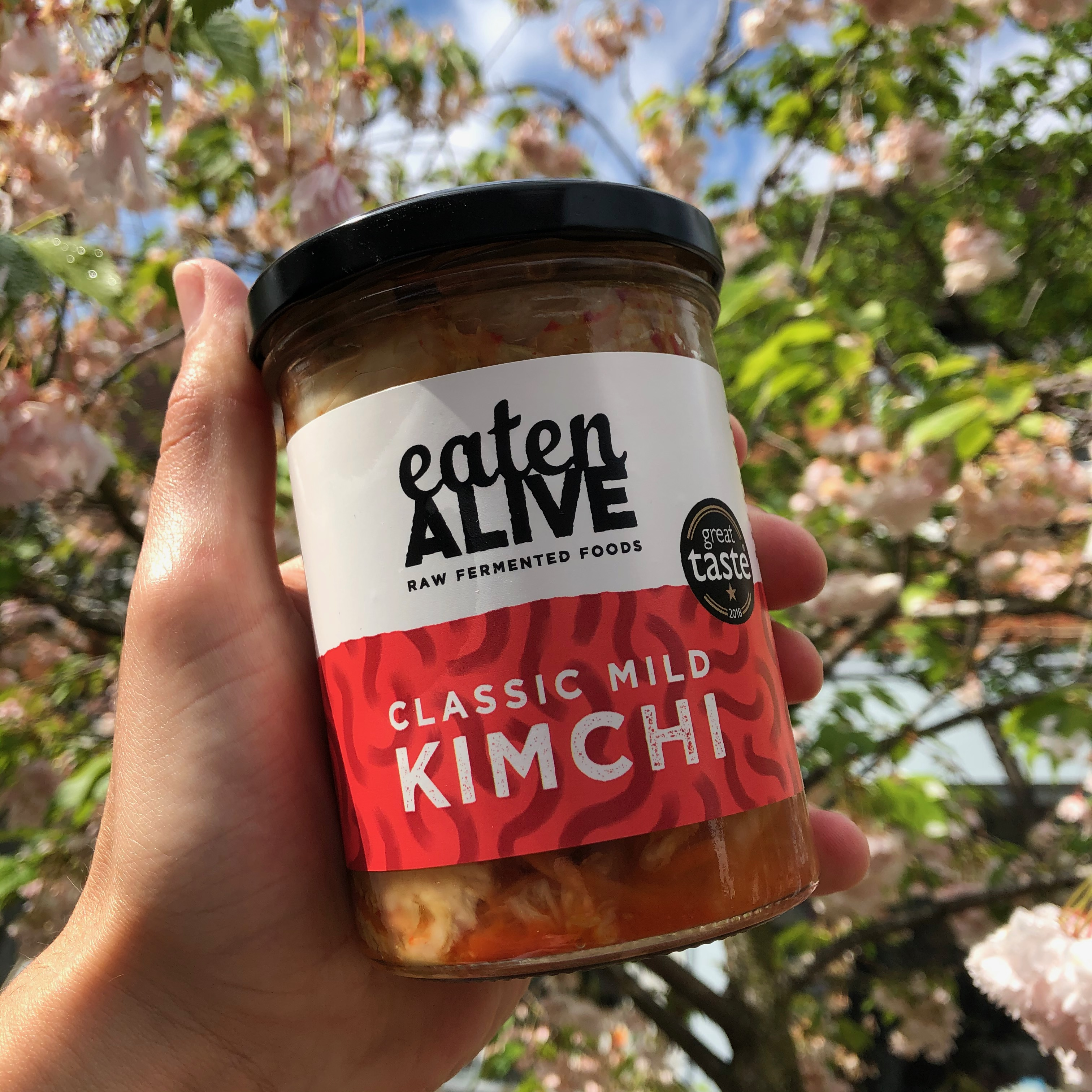 Eaten Alive Classic Mild Kimchi 375g