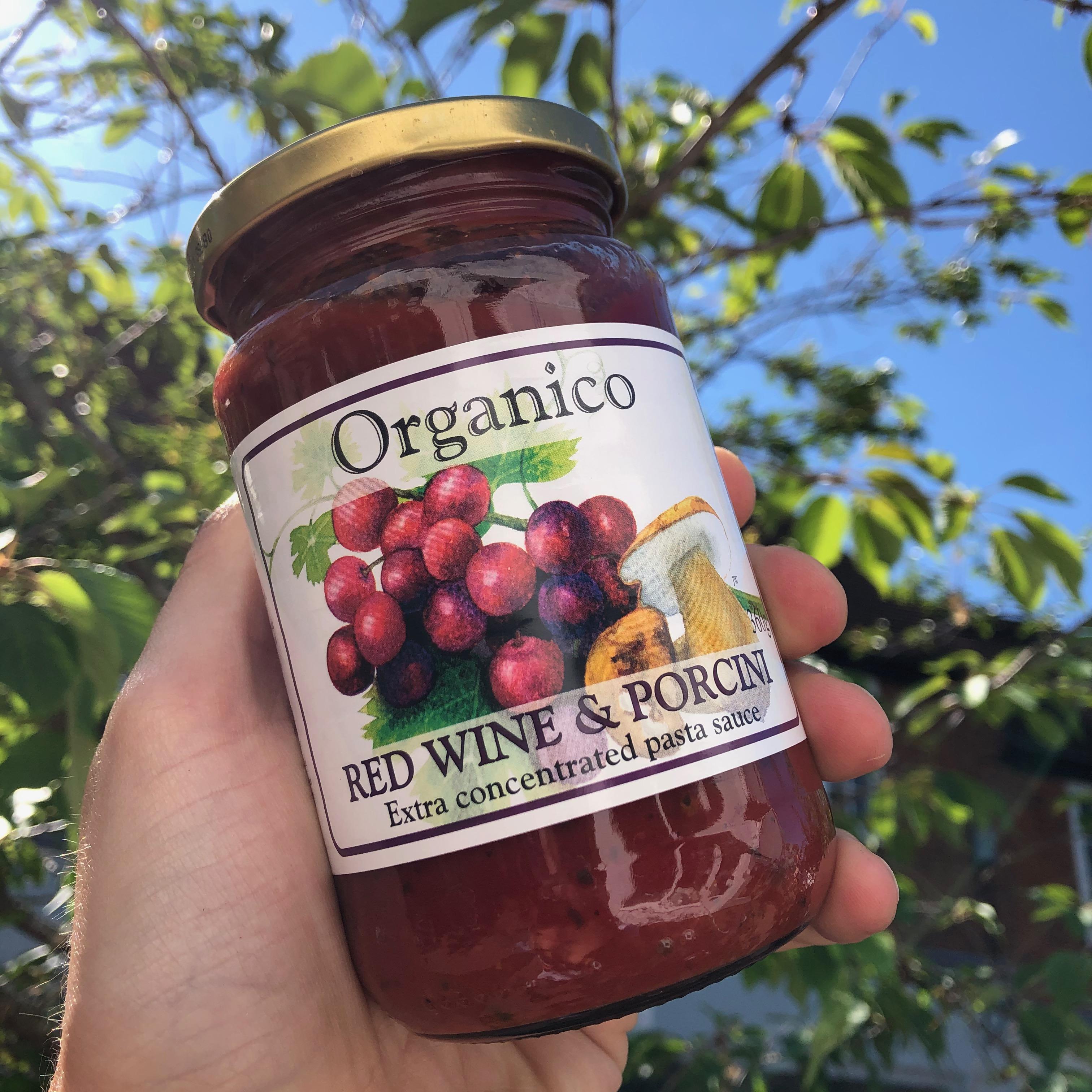 Organico Red Wine & Porcini Sauce 360g