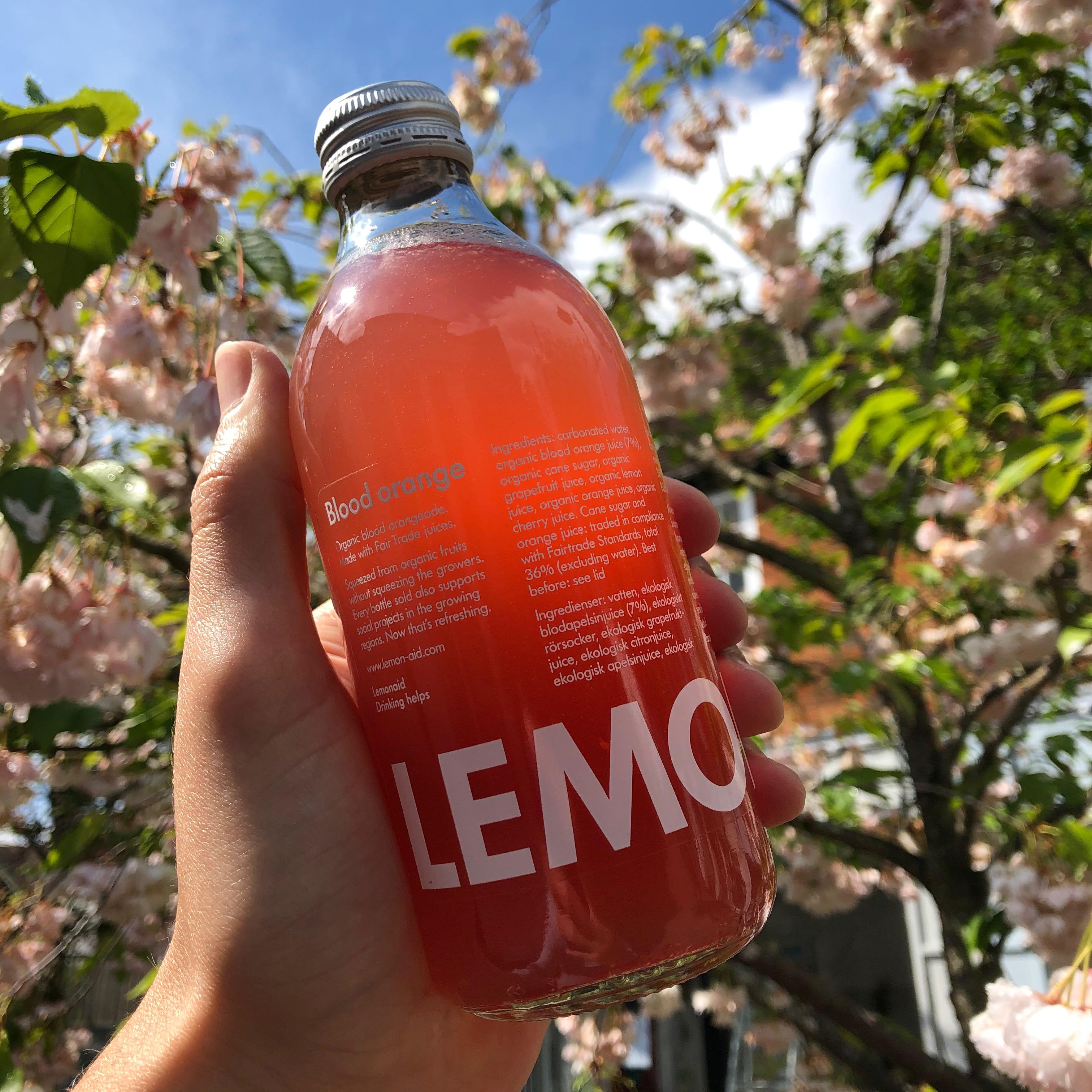 Blood Orange Lemonaid