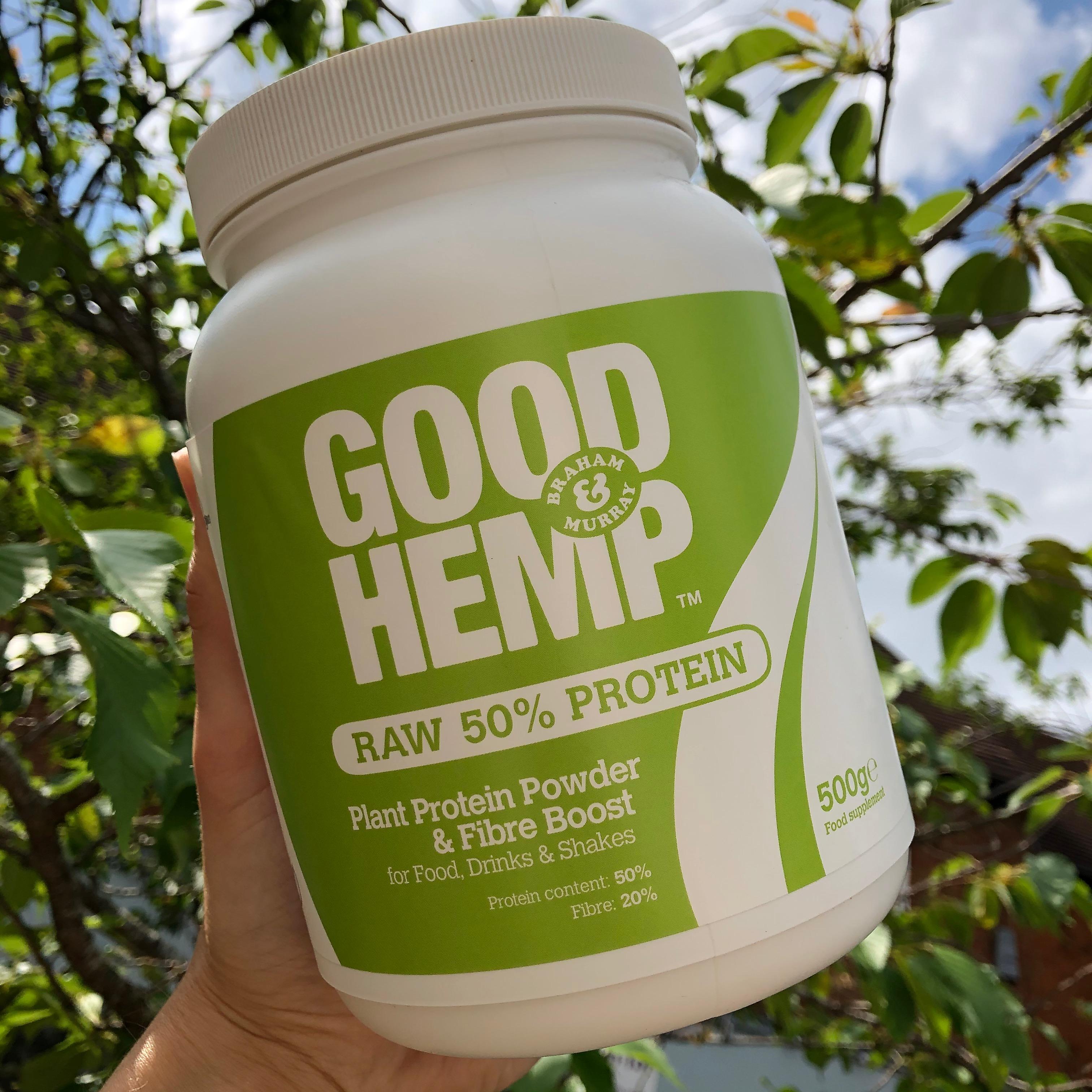 Raw UK Grown Hemp Protein 500g