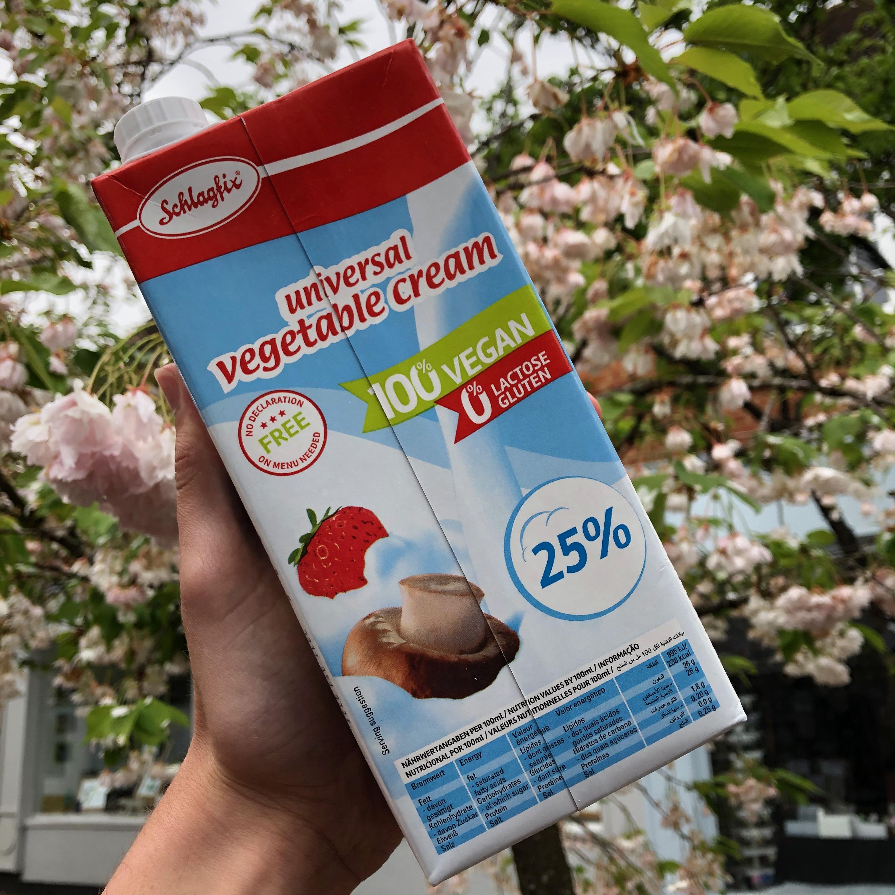 Schlagfix Vegan Whipping Cream Unsweetened 1L