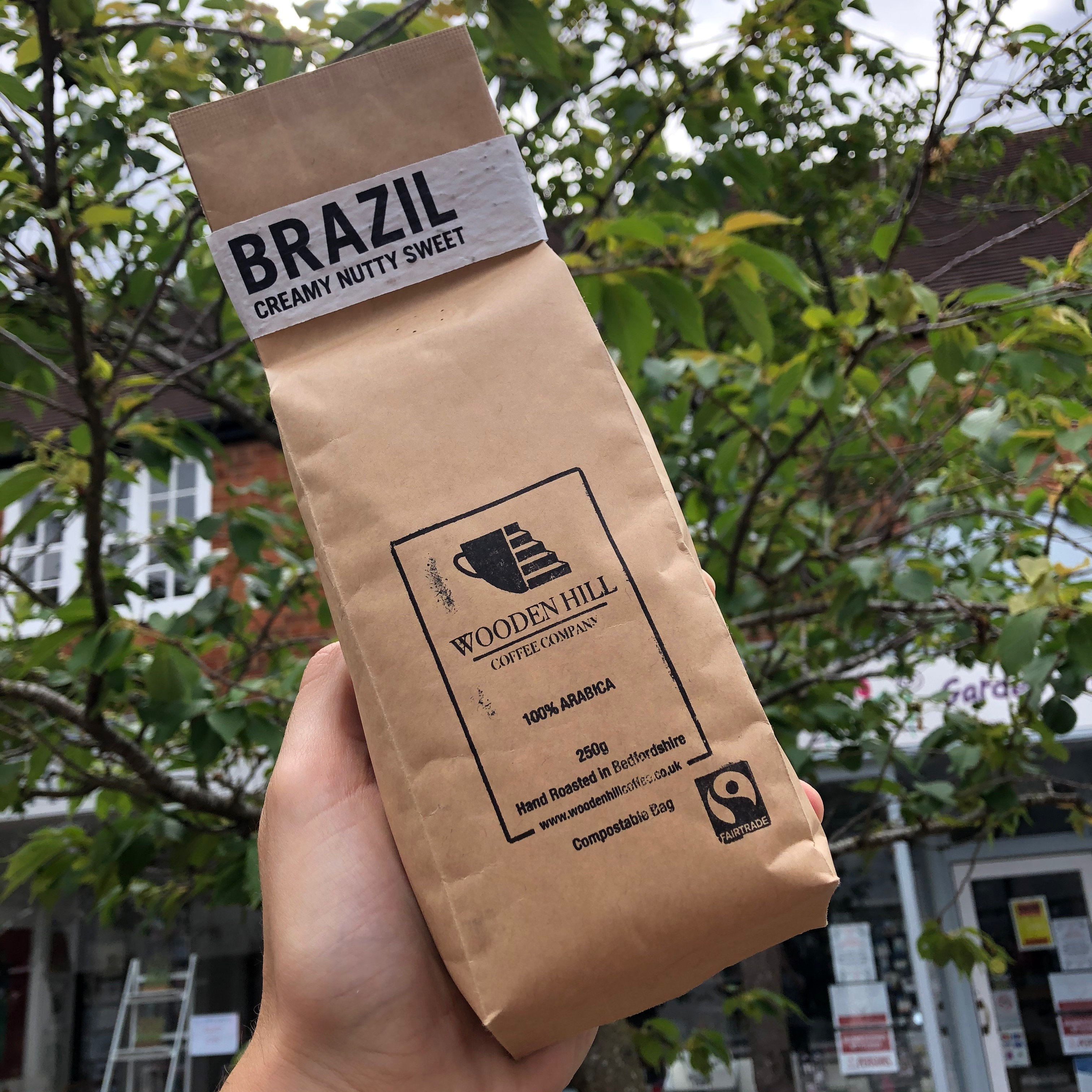 Wooden Hill Brazil Coffee Beans 250g