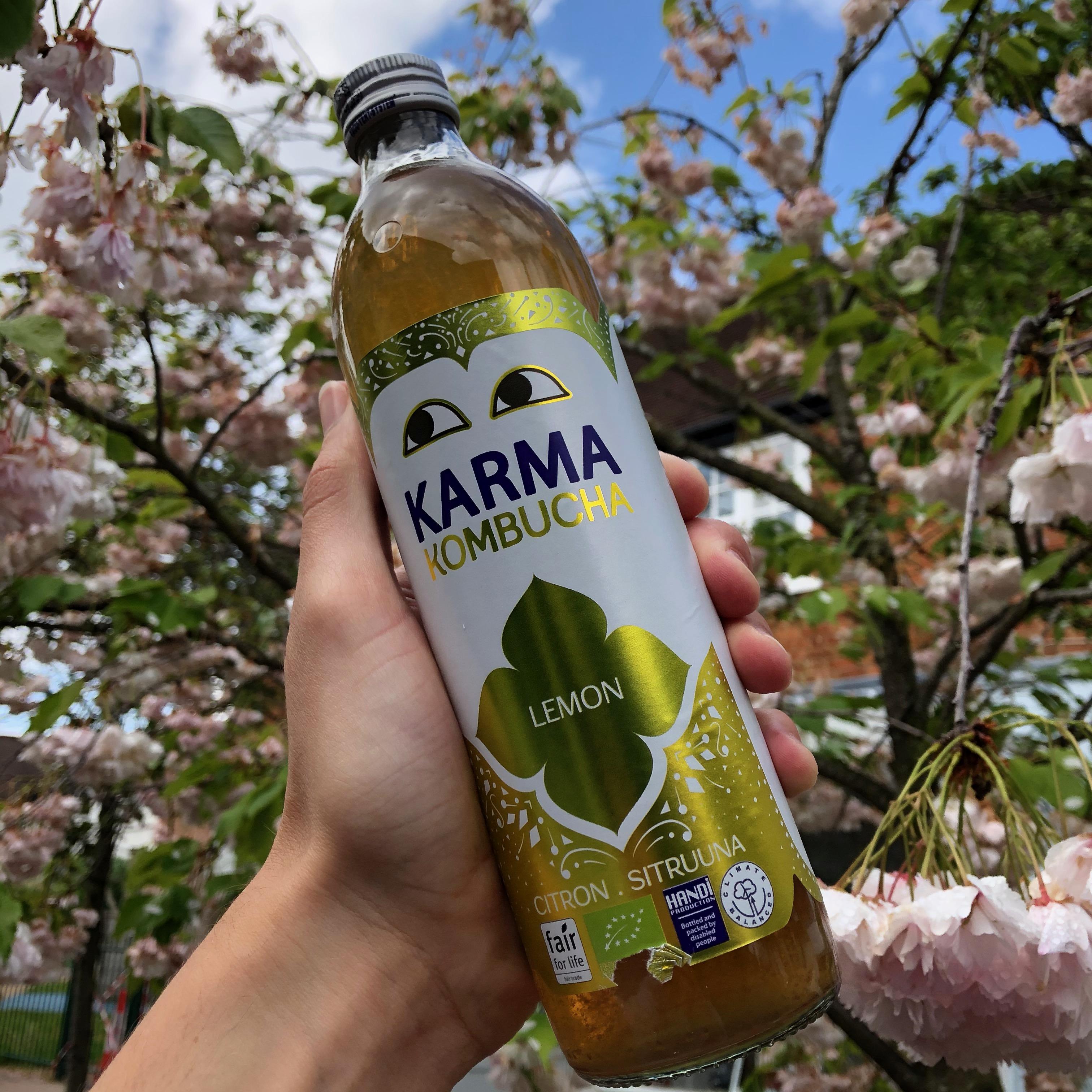 Karma Kombucha Lemon 500ml