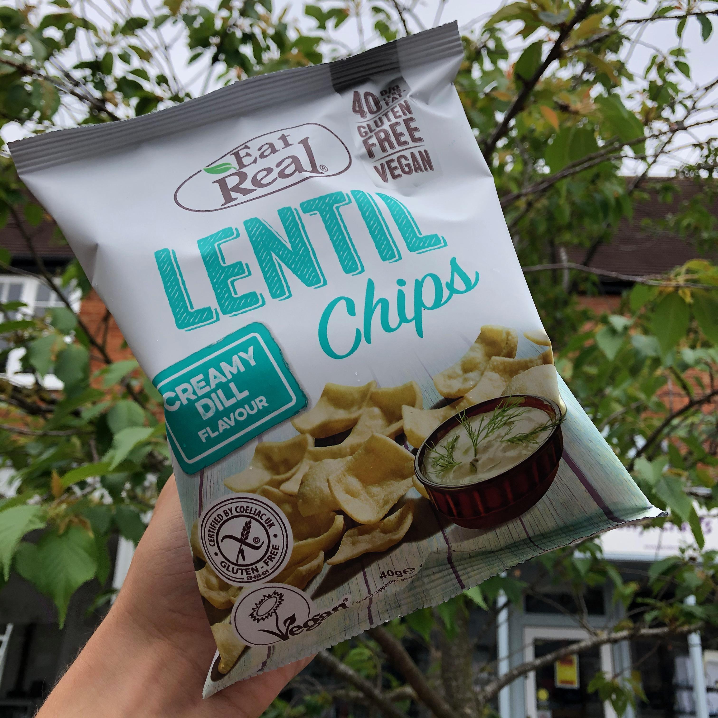 Lentil Chips - Creamy Dill 40g