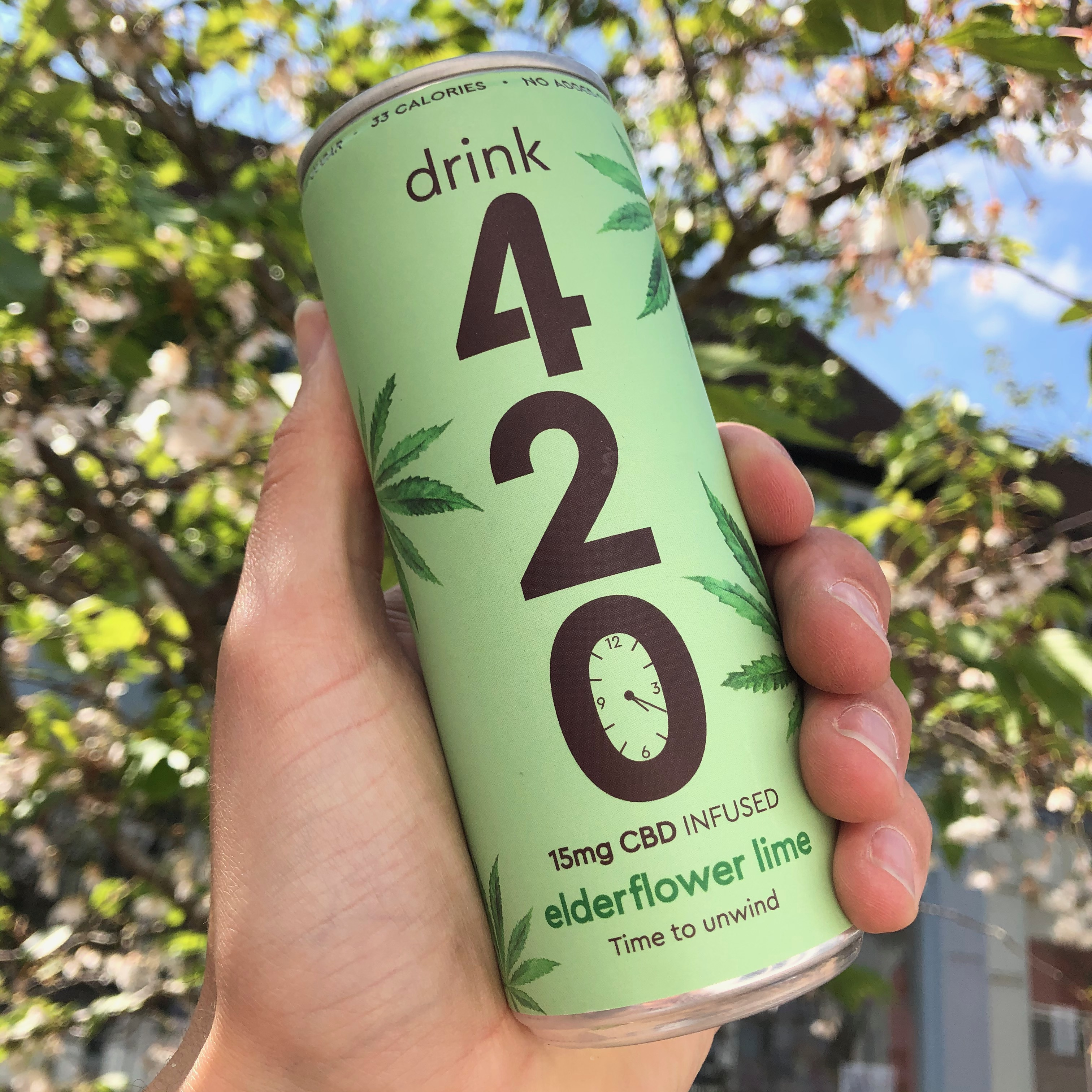 420 Elderflower Lime CBD 250ml