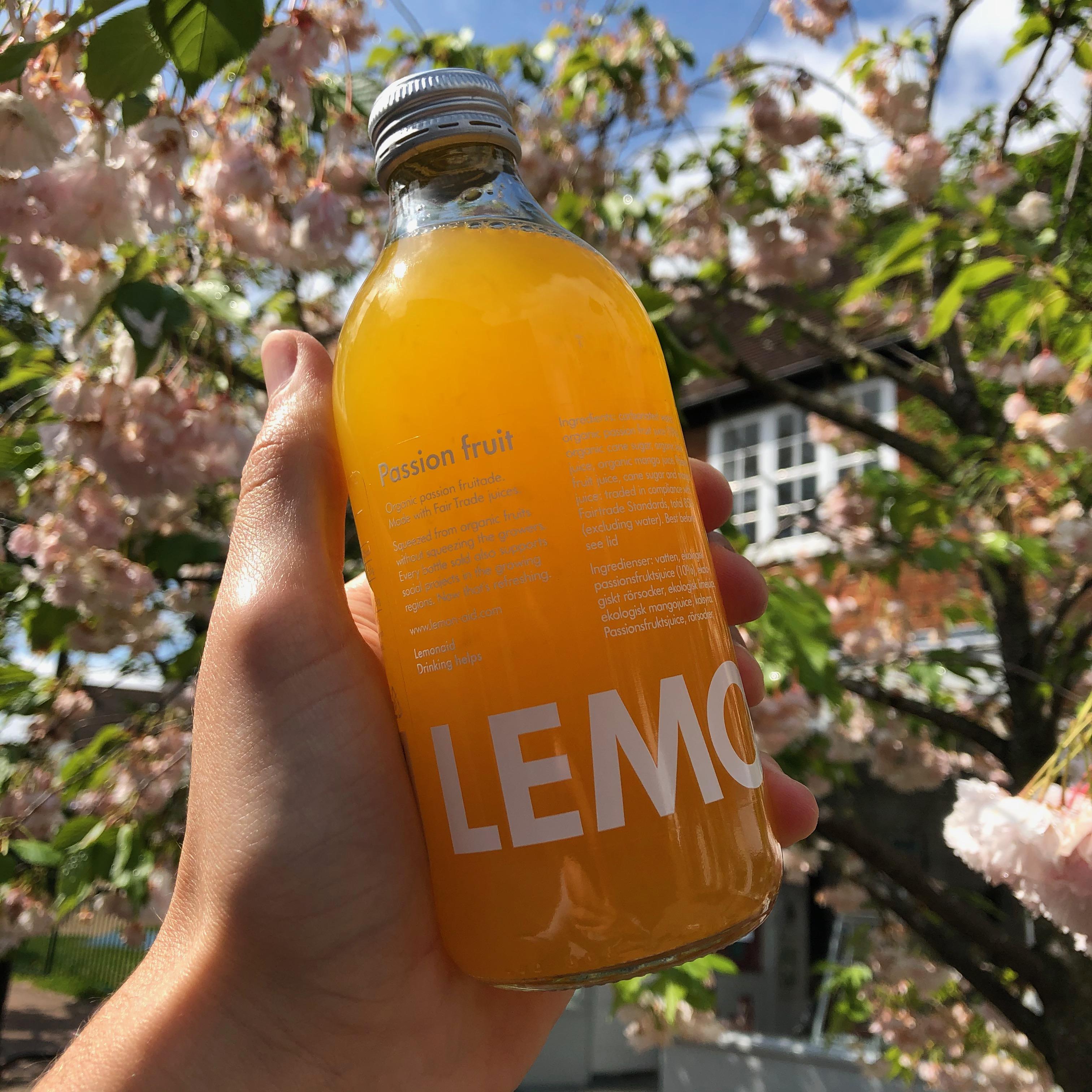 Passion Fruit Lemonaid