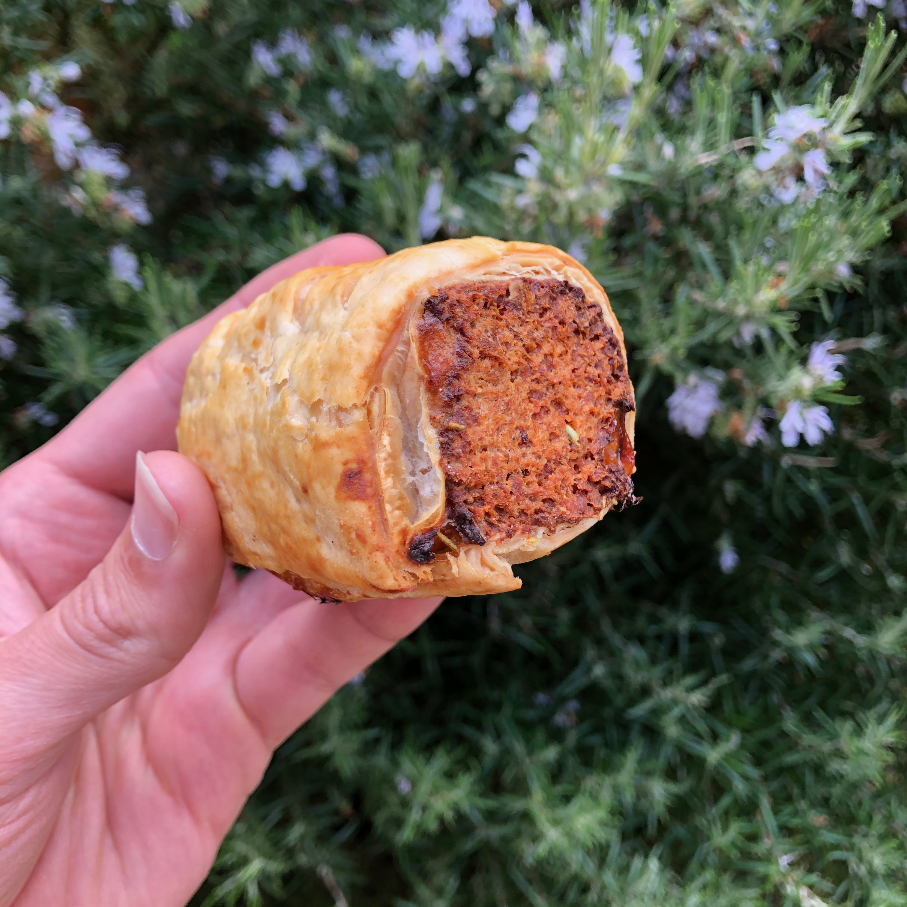 Frozen Uncooked Sausage Roll