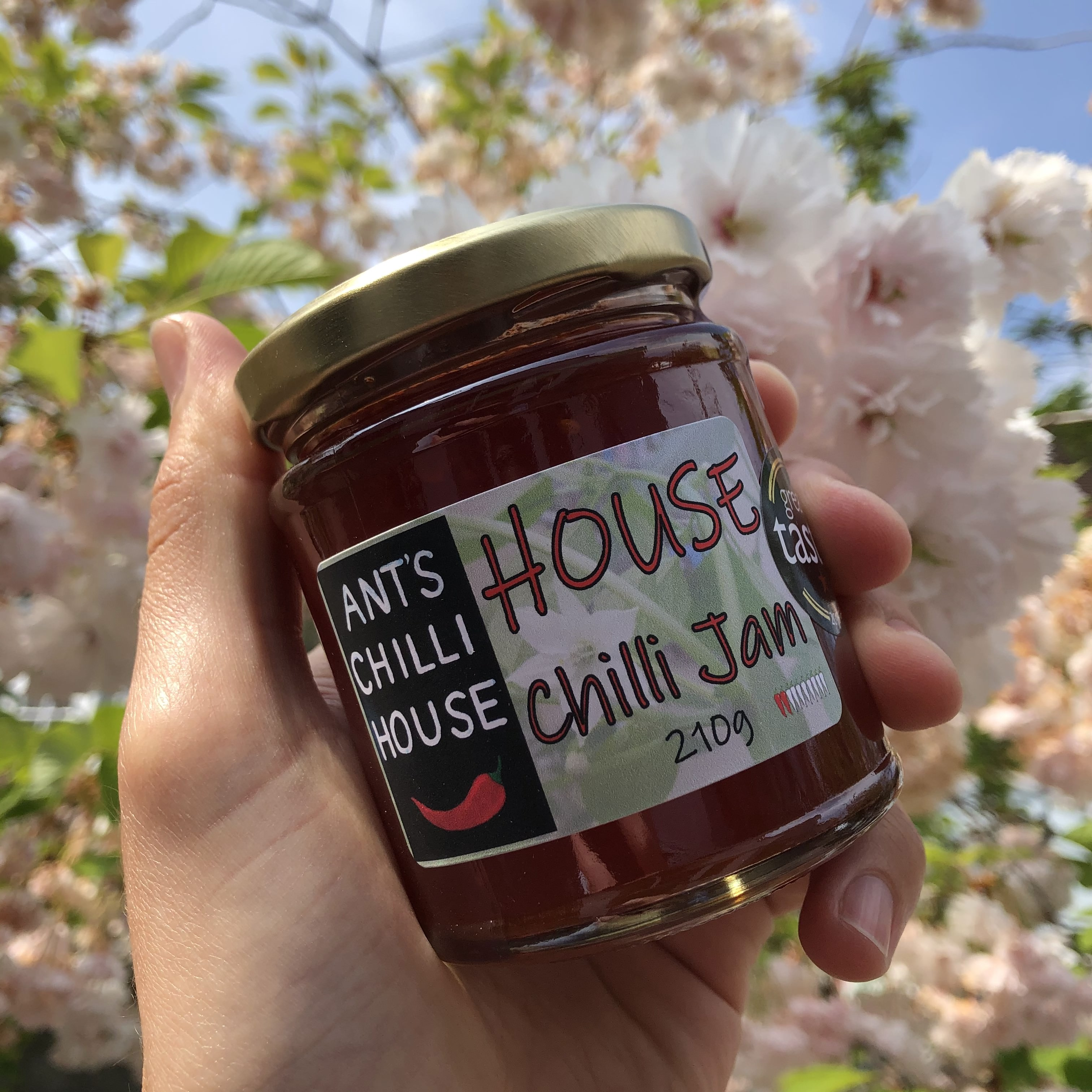 Ants Chilli House - House Chilli Jam 210g