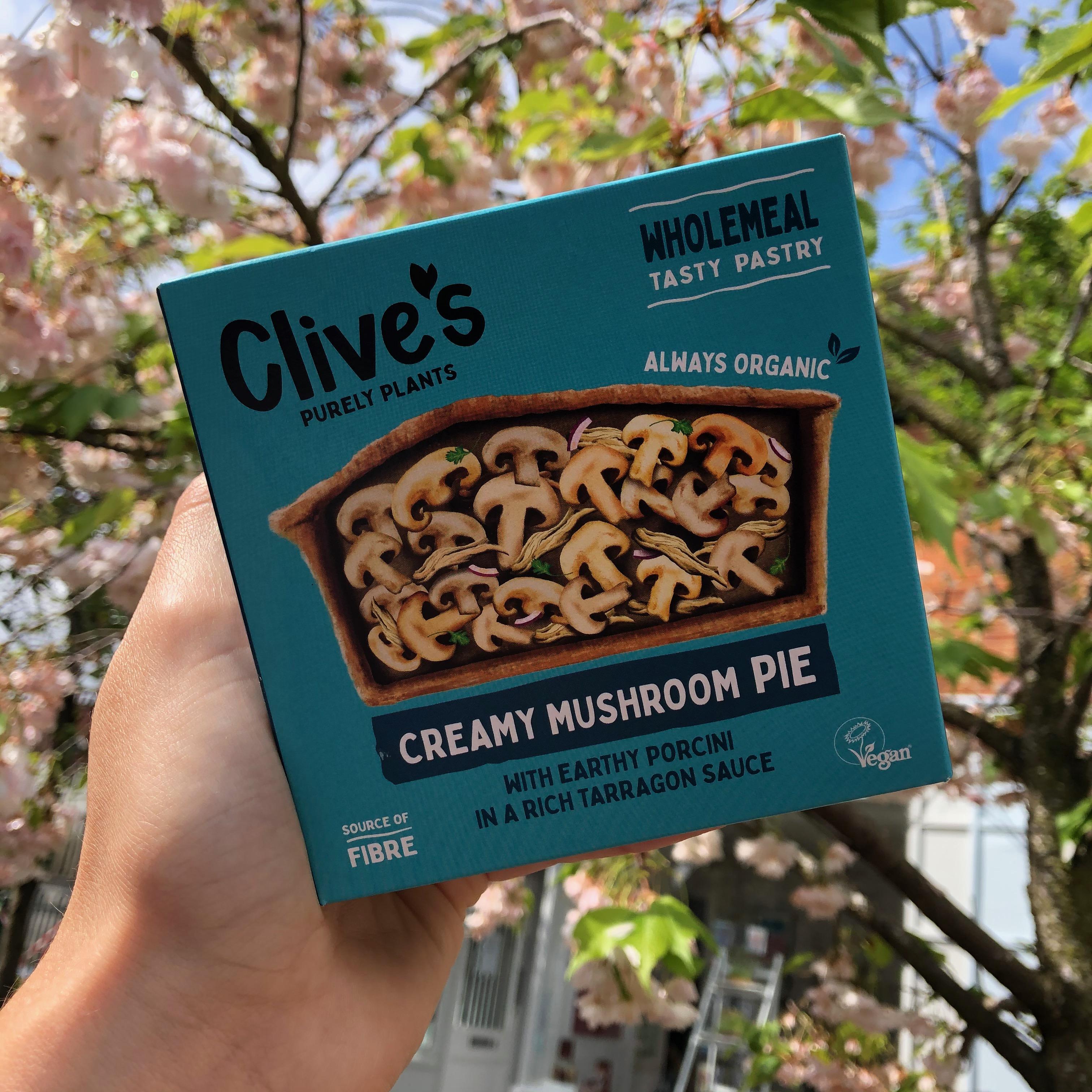 Clives Creamy Mushroom Pie