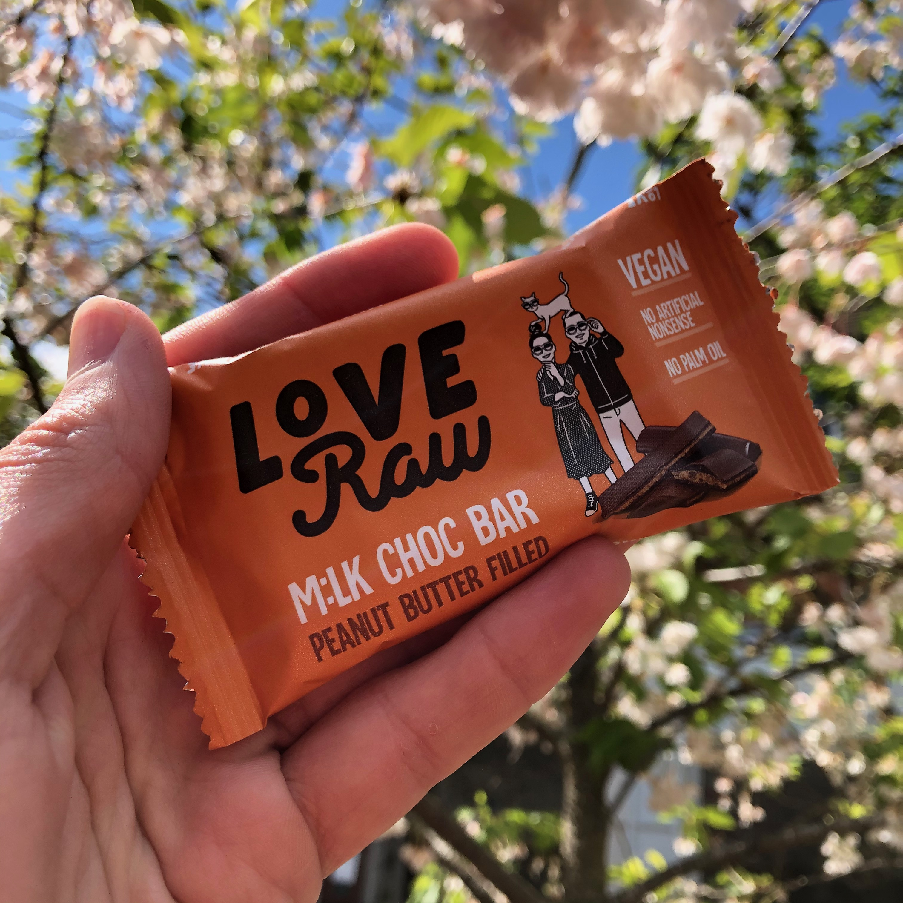 Loveraw Peanut Butter Milk Bar 30g