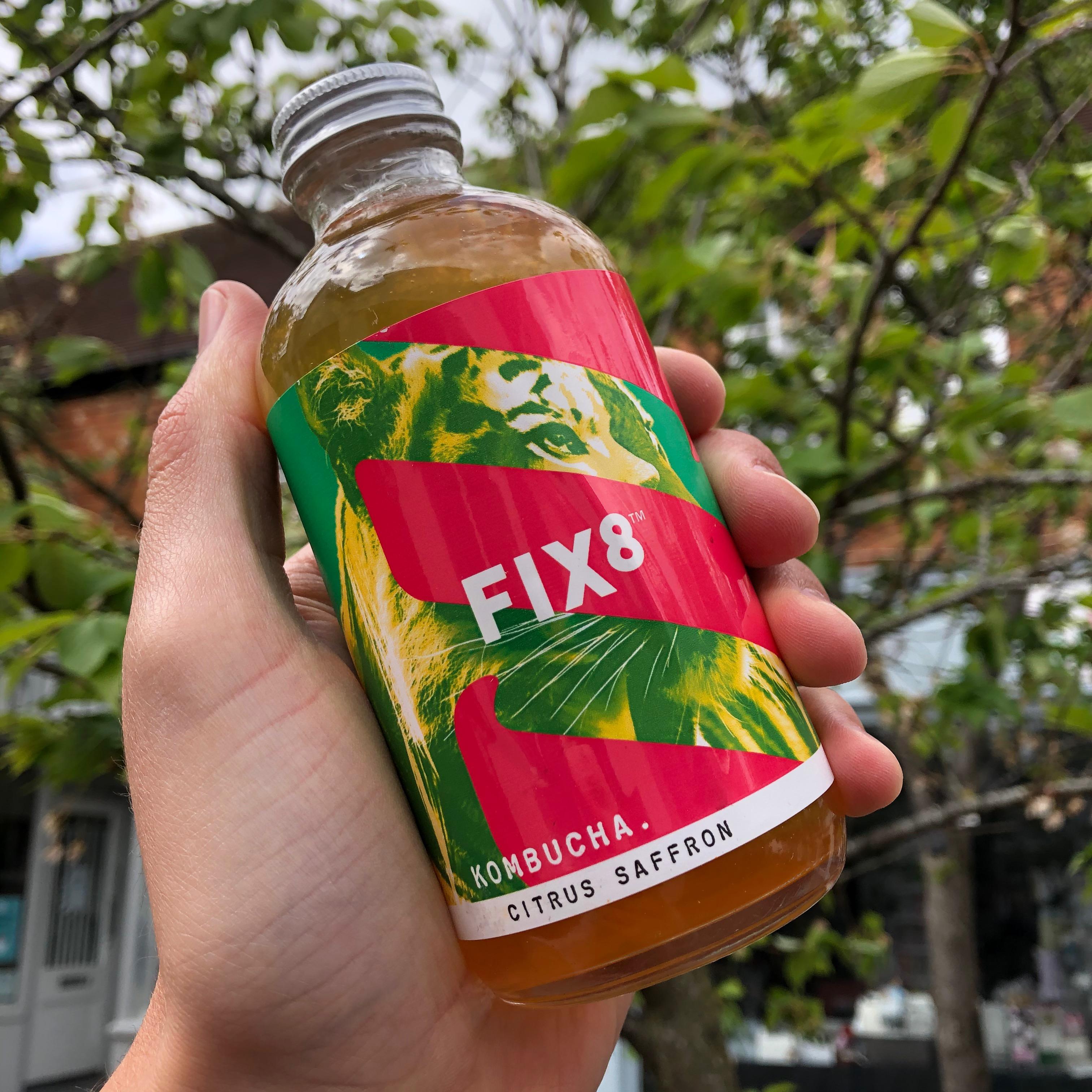 Fix8 Citrus & Saffron Kombucha 240ml