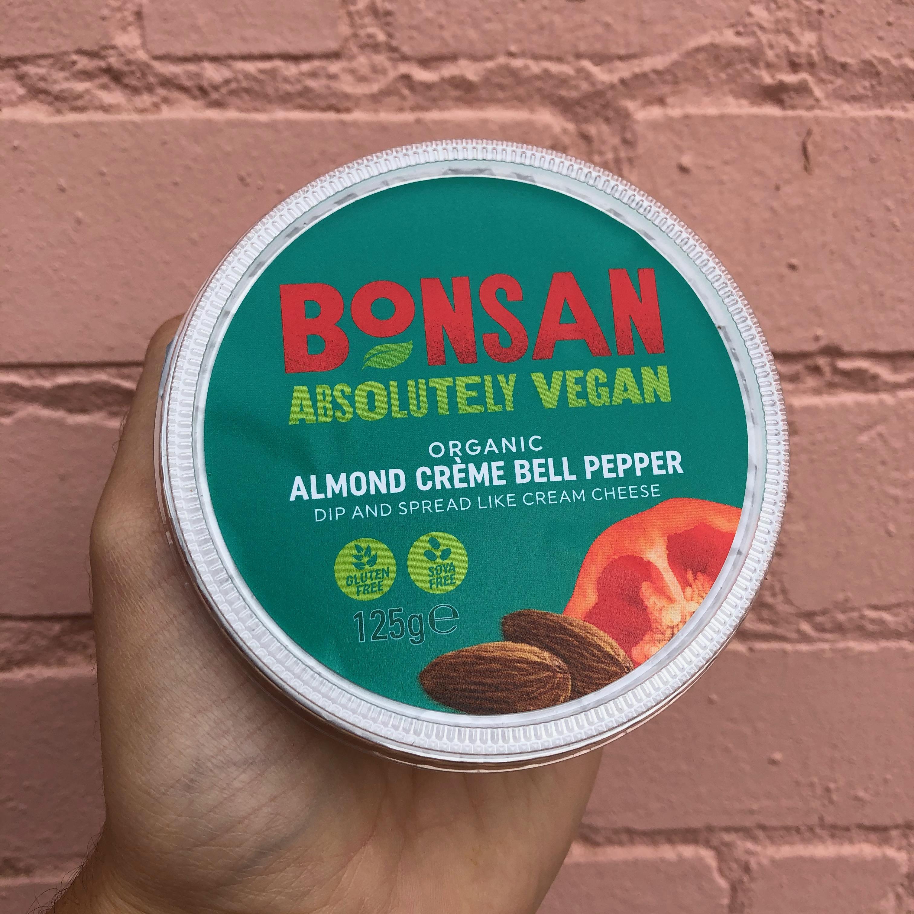Bonsan Almond Creme Bell Pepper Dip