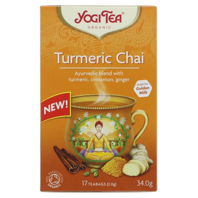 Turmeric Chai Tea (17 bags)