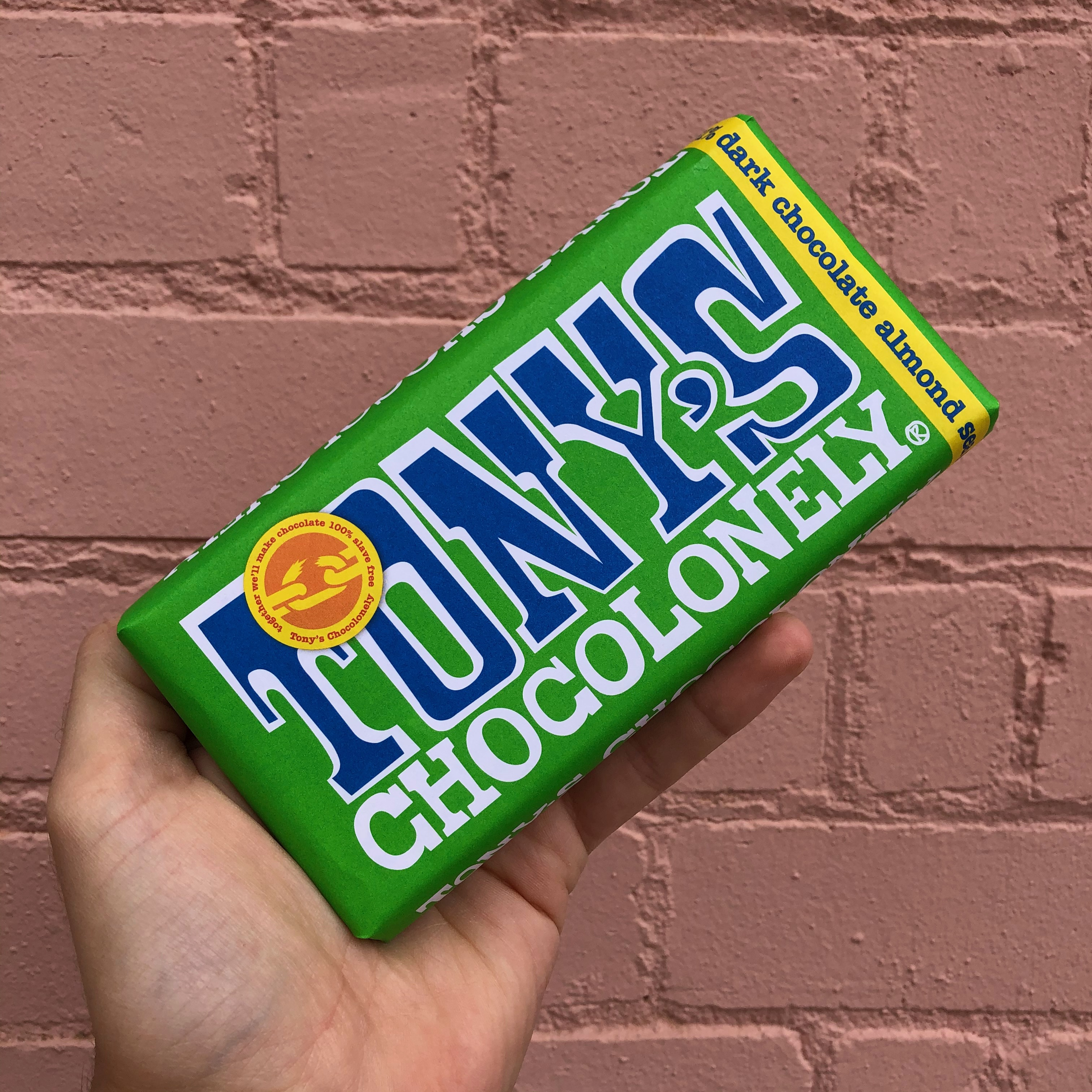 Tony's Chocolonely Dark Choc Almond & Sea Salt