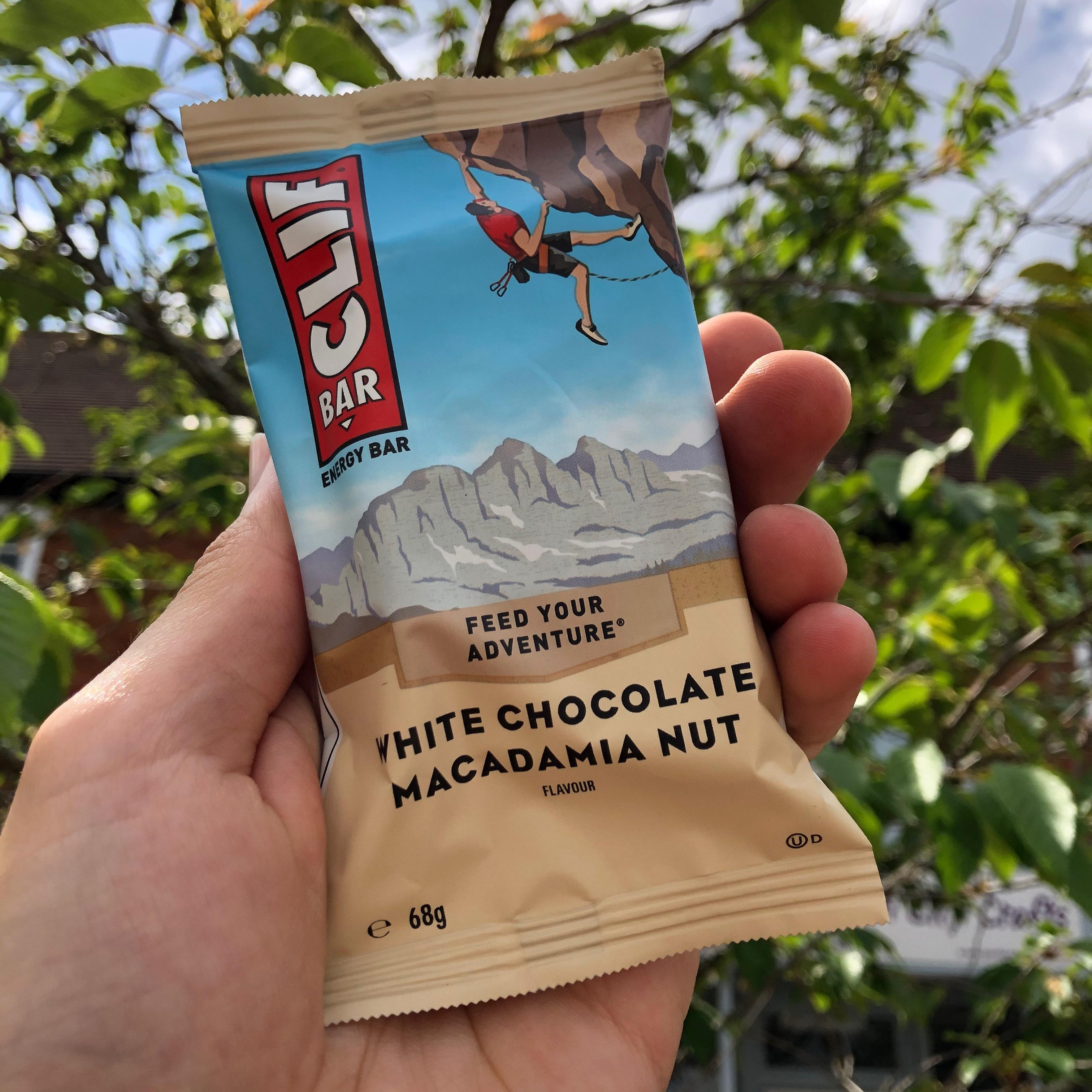 Clif White Chocolate Macadamia Energy Bar