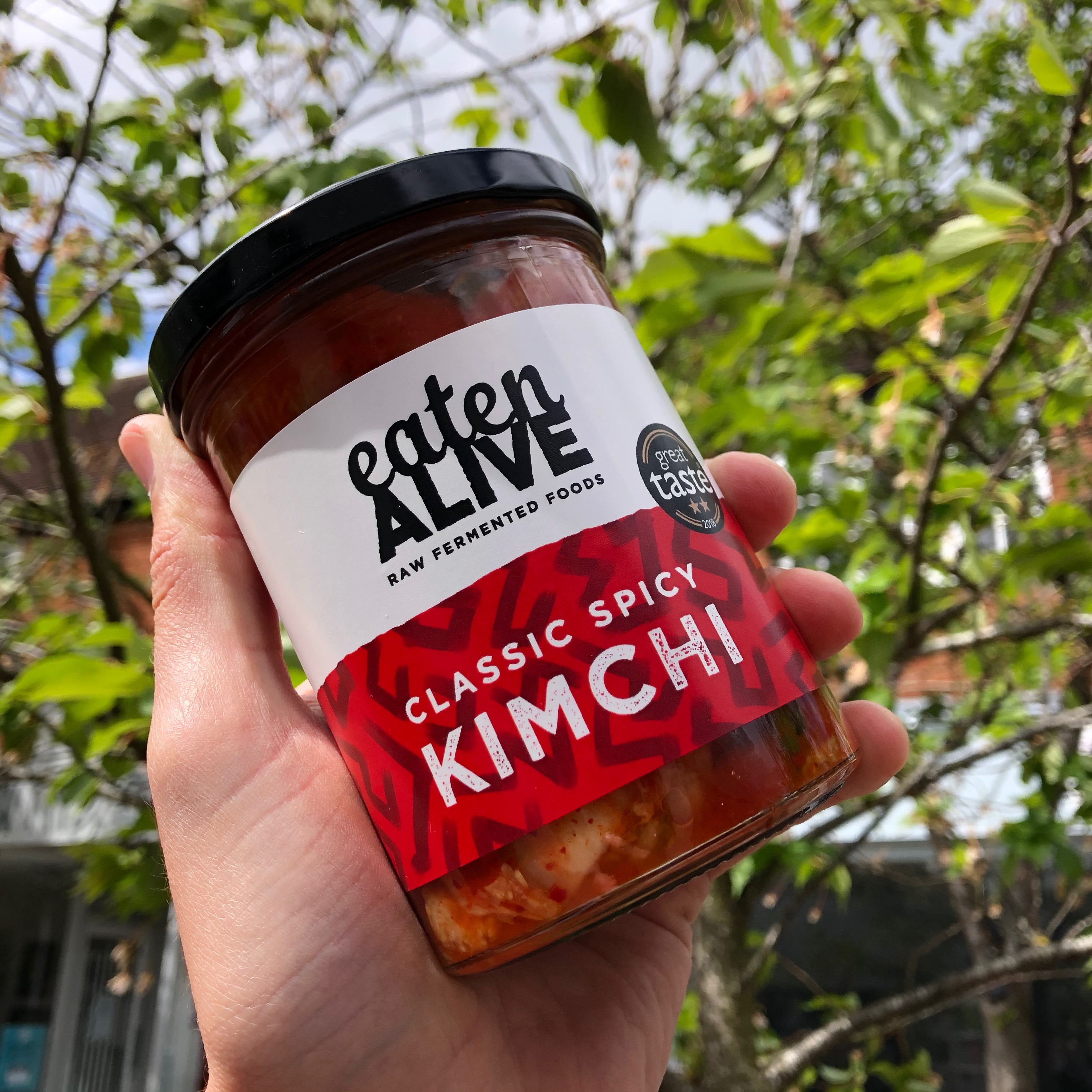 Eaten Alive Classic Spicy Kimchi 375g