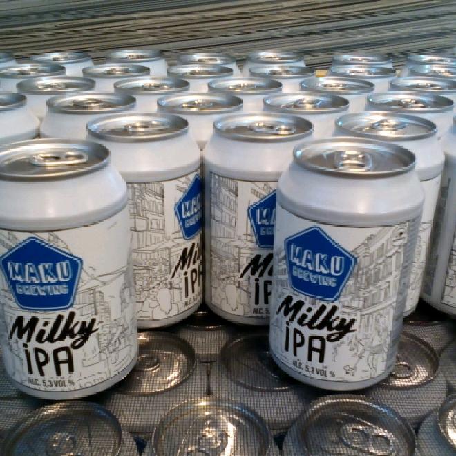 Milky IPA 5,3% (24x0,33l)