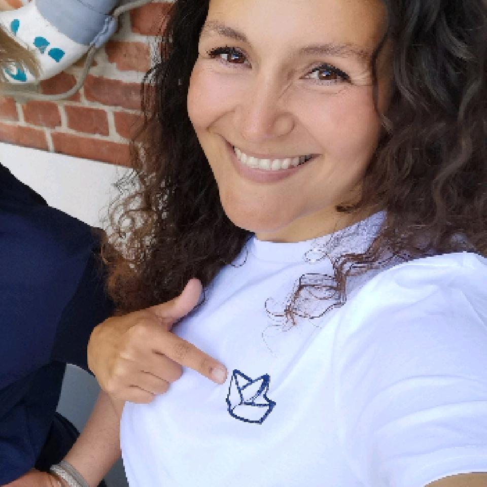 Fischuppen - Papierbötchen Shirt