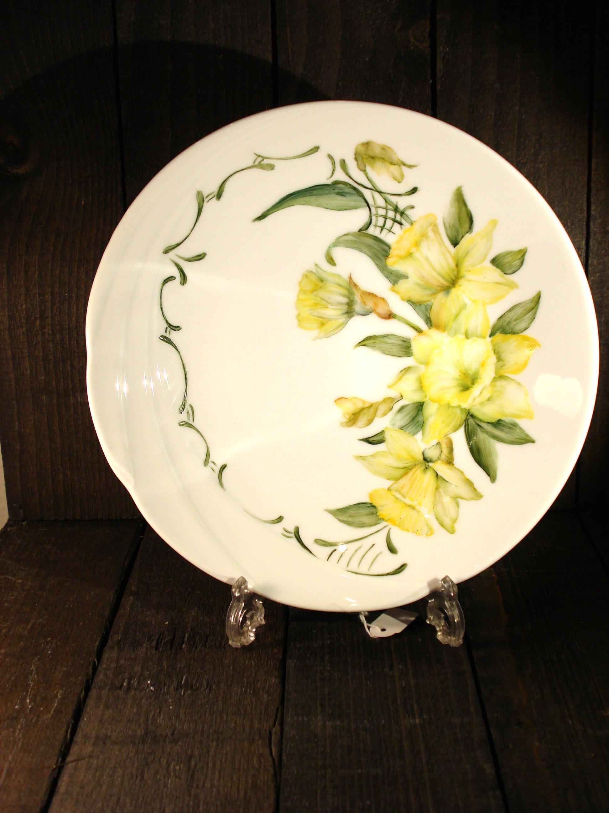 Forårs porcelænsfad
