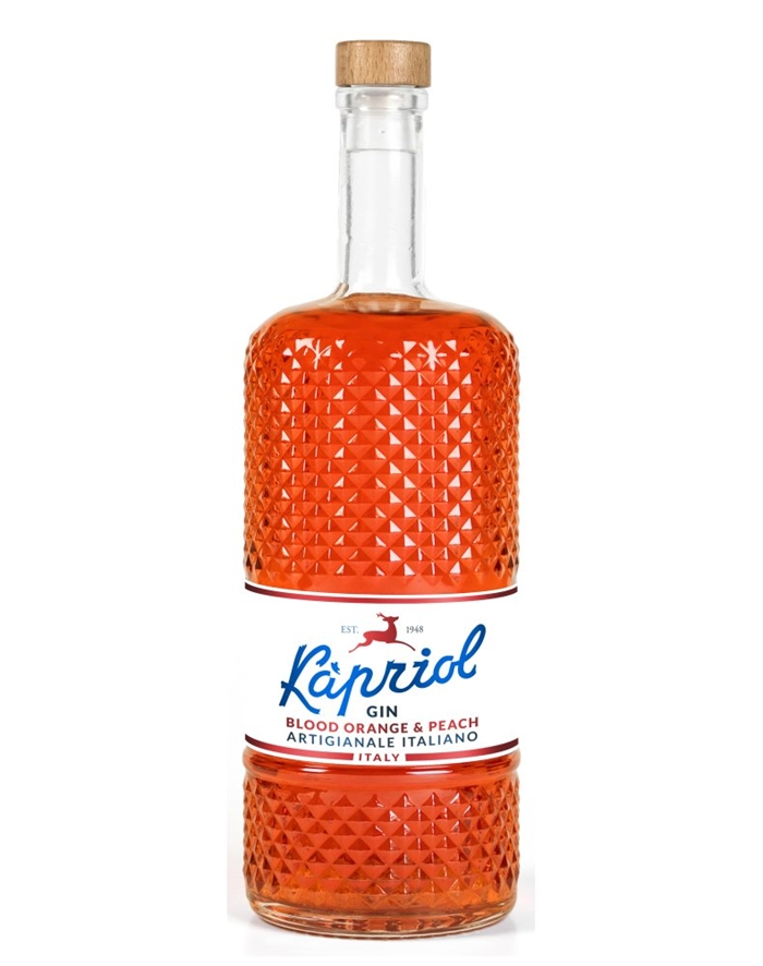 Kapriol Blood orange og peach gin
