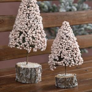 Deco lyserød juletræ