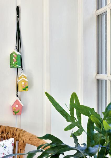 Glas ornament huse
