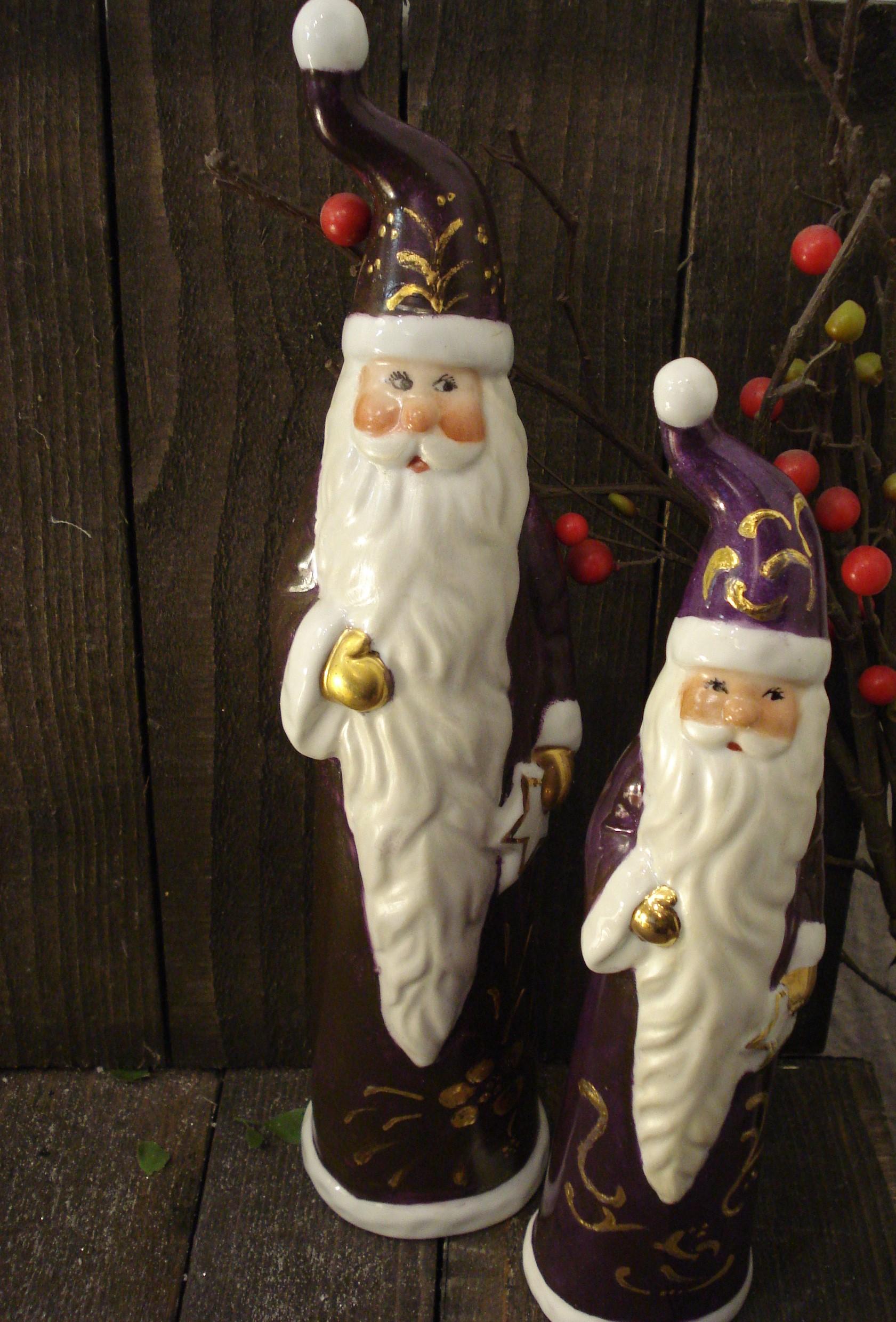 Høje lilla julemænd