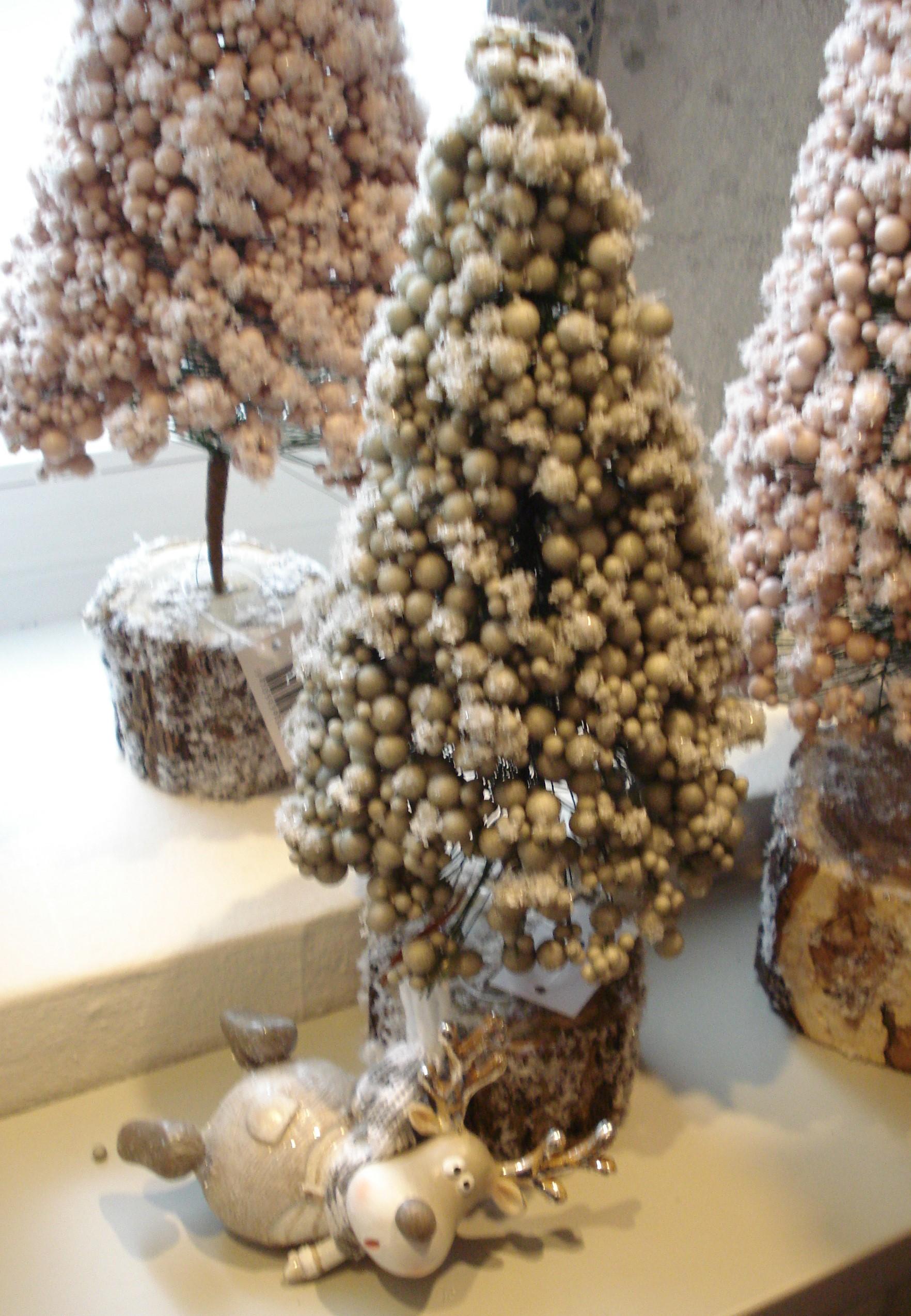 Deco grøn juletræ