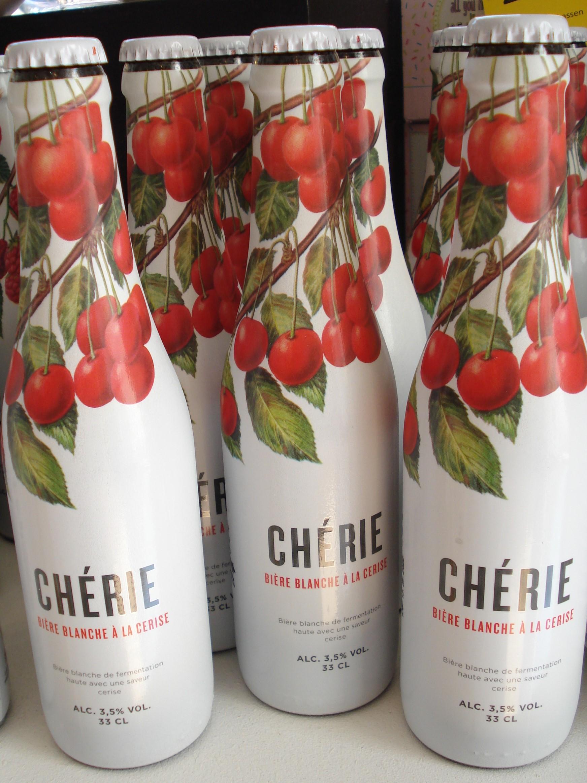 Kirsebær øl fra Chérie