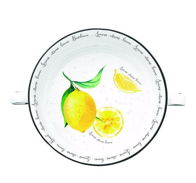 Citron skål med ører