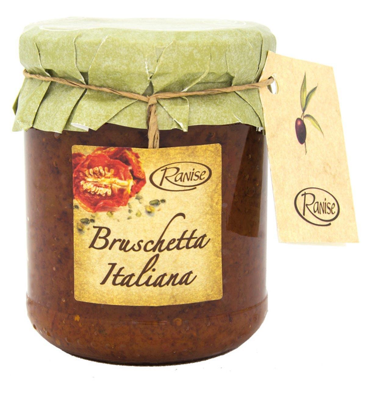 Bruschetta Italian, Ranise