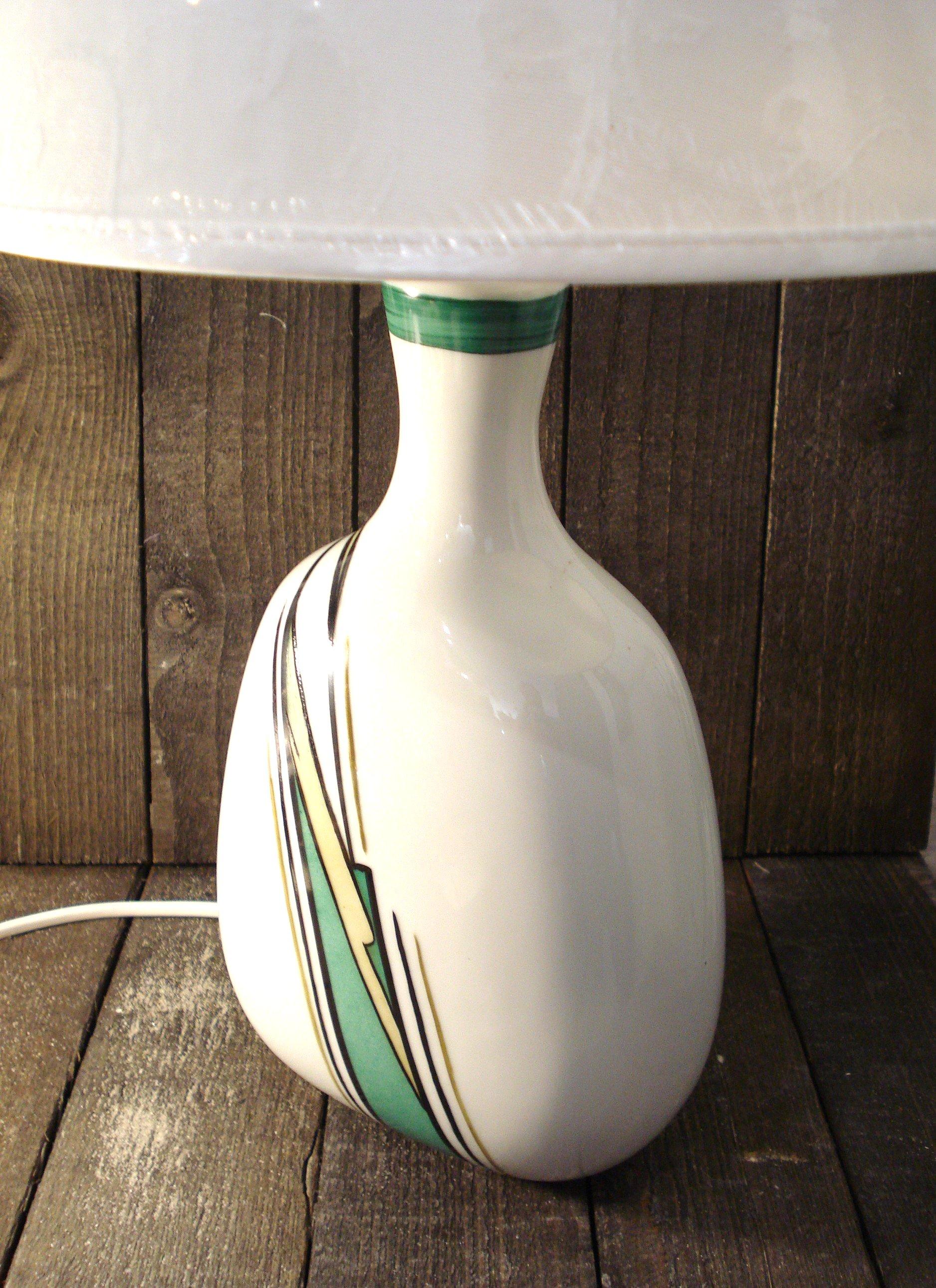 Abstrakt grøn lampe