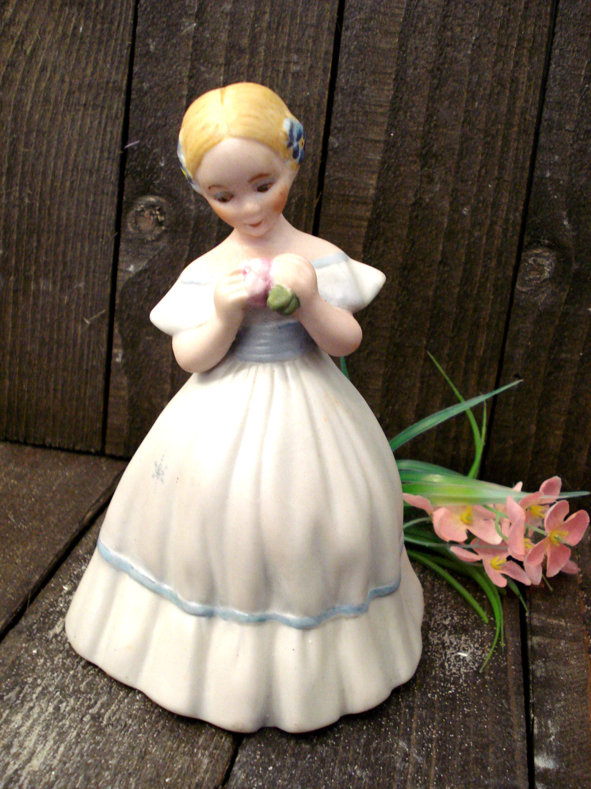 Pige figur håndmalet