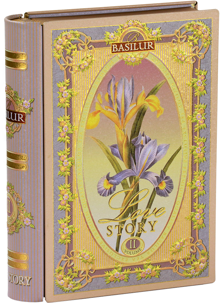 Basilur mini tea book ´love story